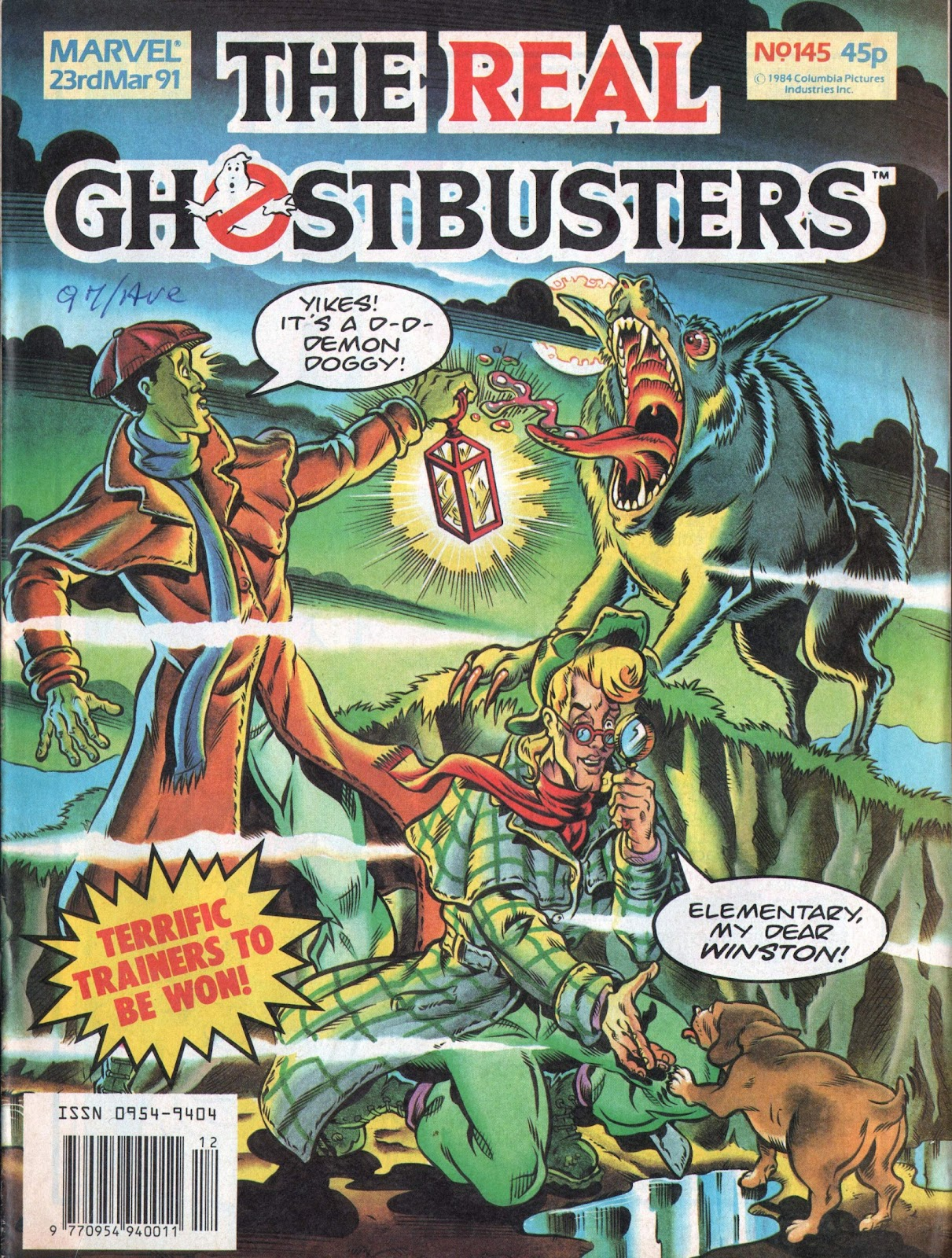 The Real Ghostbusters 145 Page 1