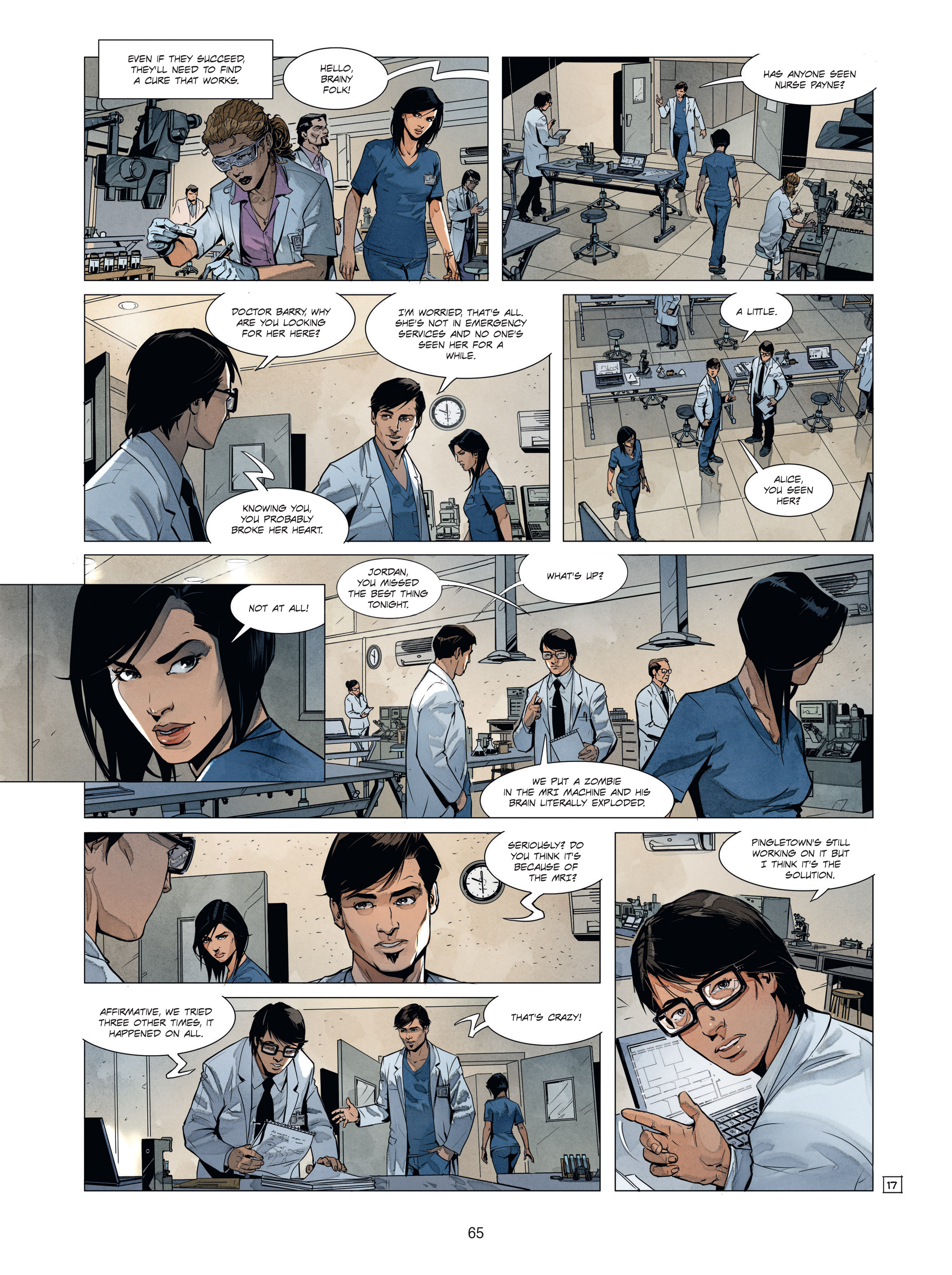Read online Alice Matheson comic -  Issue #1 - 64