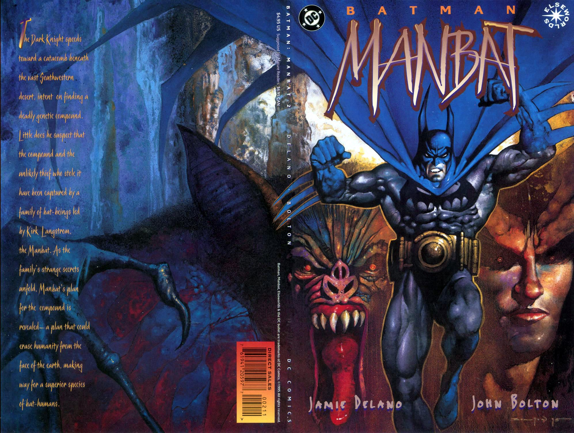 Batman: Manbat 2 Page 1