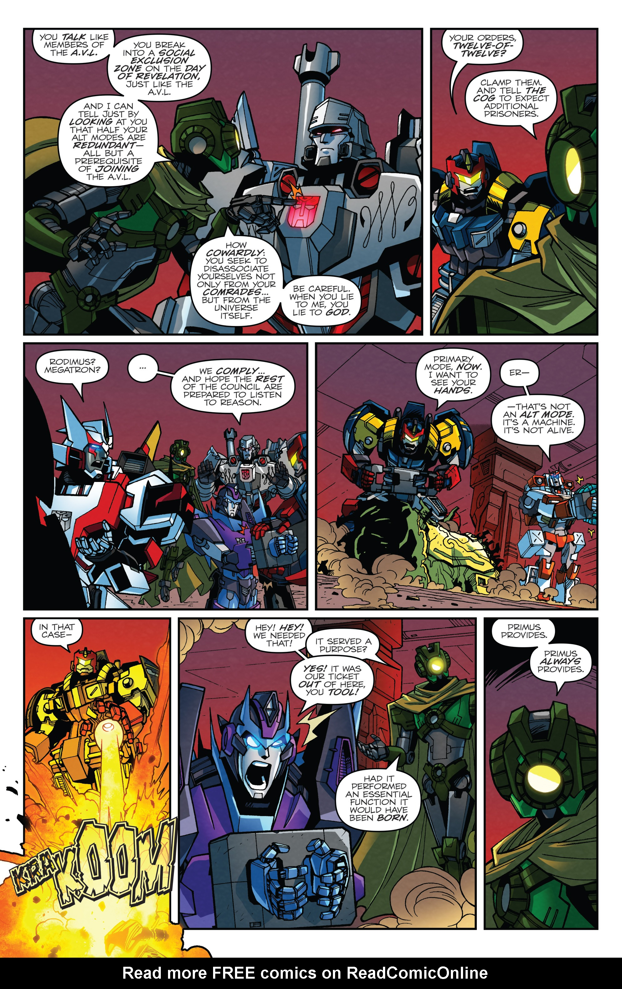 Read online Transformers: Lost Light comic -  Issue #2 - 4