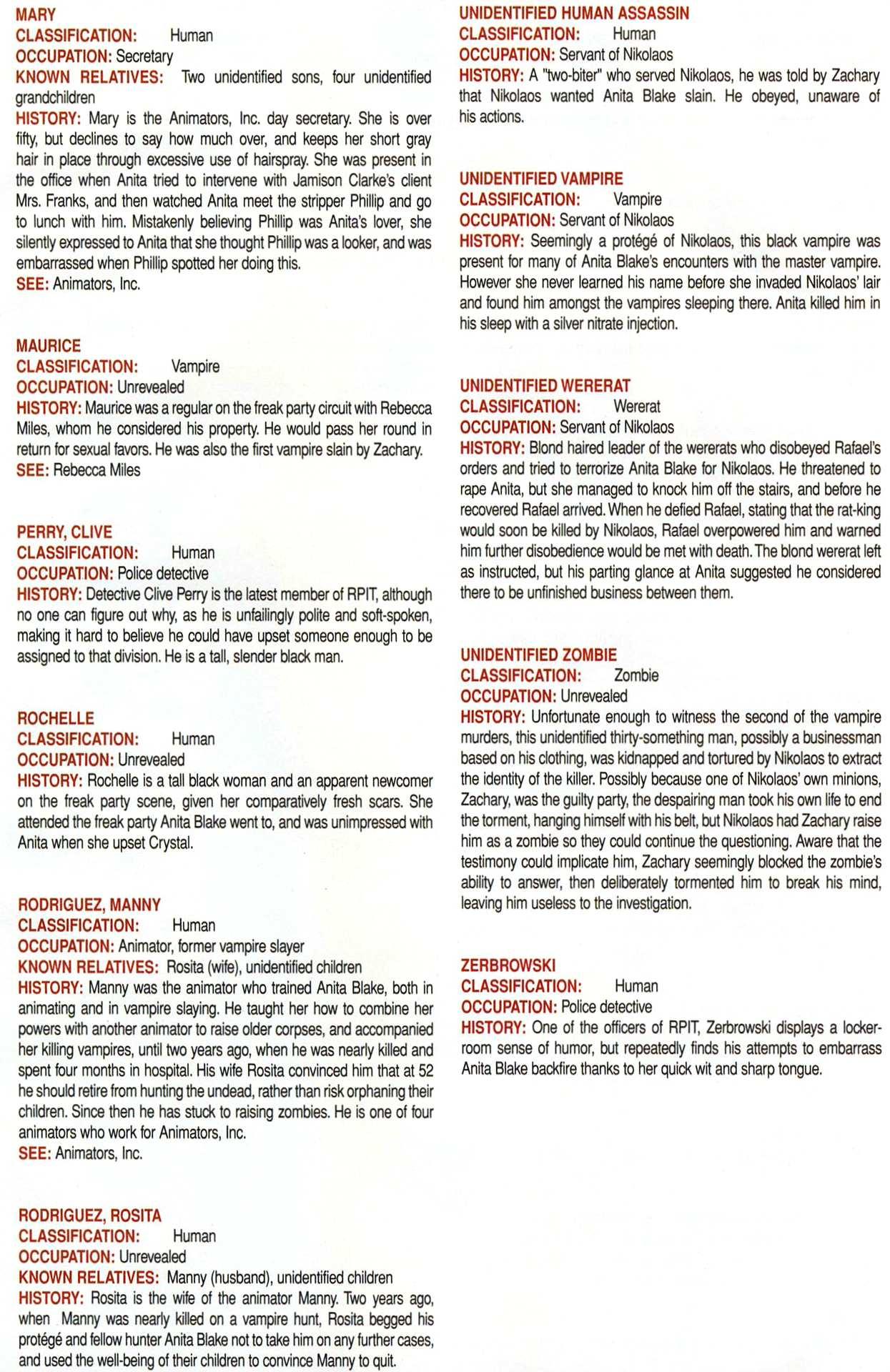 Read online Anita Blake, Vampire Hunter: Guilty Pleasures Handbook comic -  Issue #Anita Blake, Vampire Hunter: Guilty Pleasures Handbook Full - 49