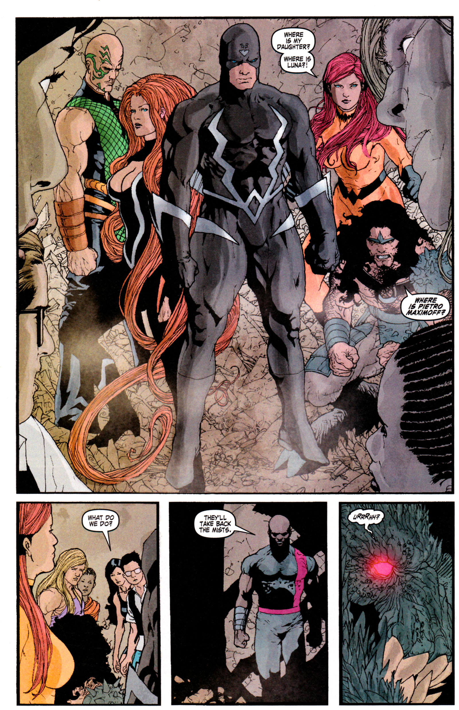 Read online Son of M comic -  Issue #5 - 29