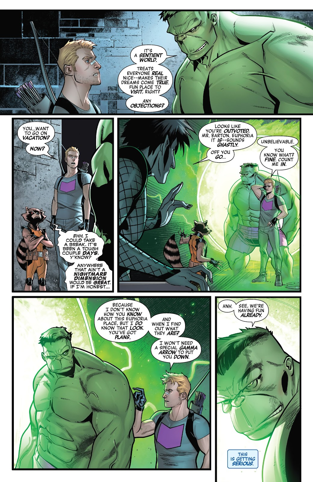 Read online Avengers No Road Home comic -  Issue #7 - 9