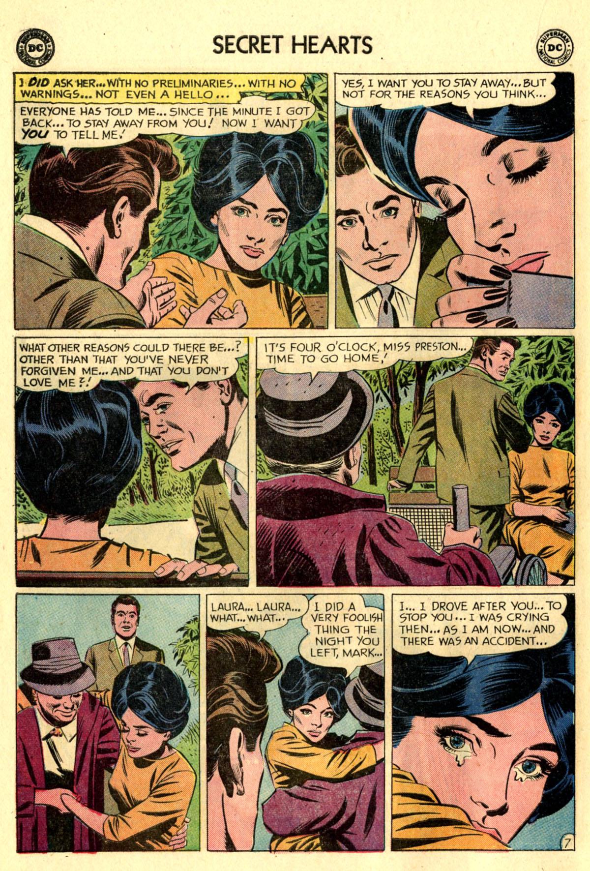 Read online Secret Hearts comic -  Issue #83 - 16