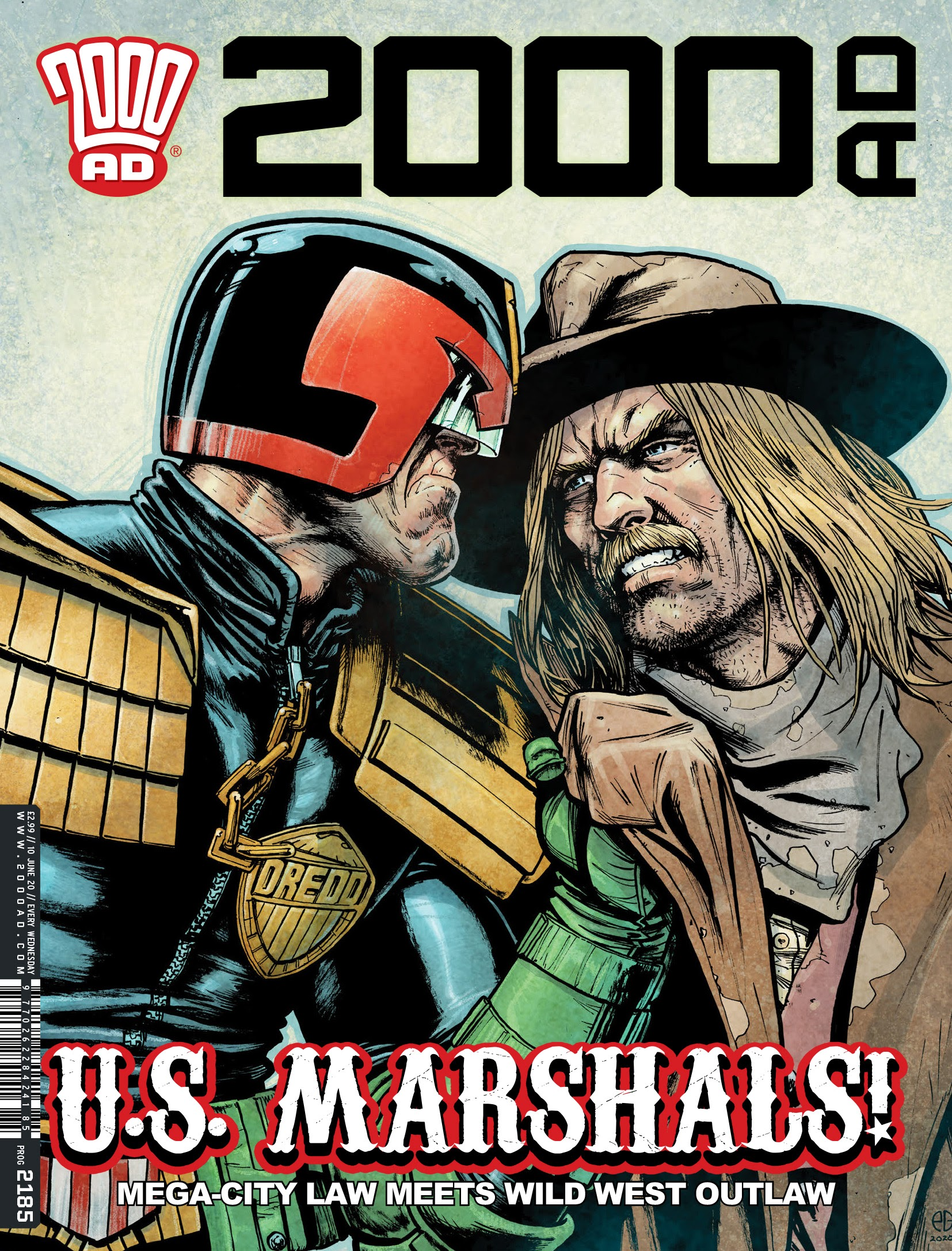 2000 AD 2185 Page 1