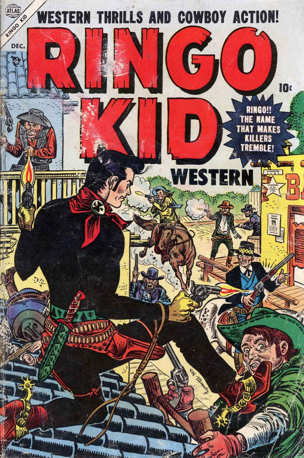 Ringo Kid Western issue 3 - Page 1