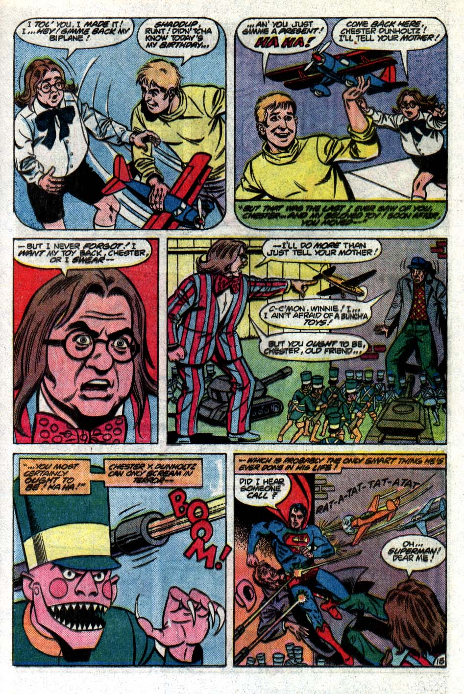 Read online Action Comics (1938) comic -  Issue #561 - 16