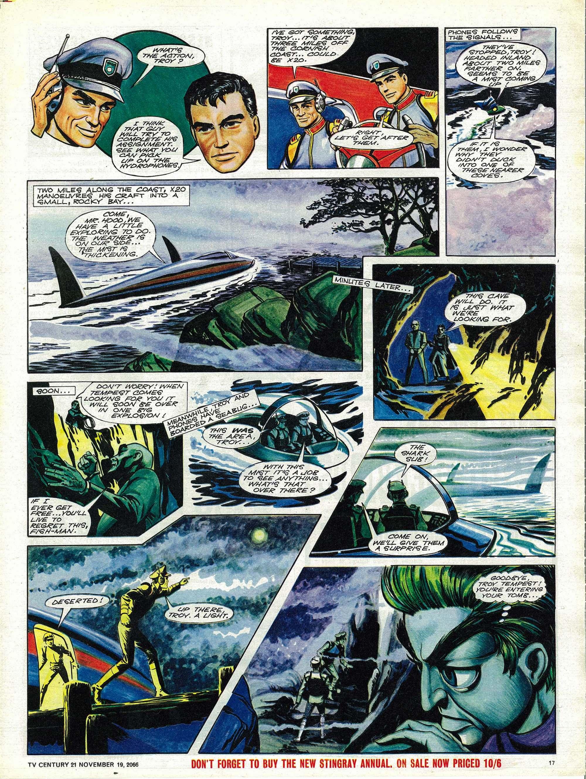 Read online TV Century 21 (TV 21) comic -  Issue #96 - 16