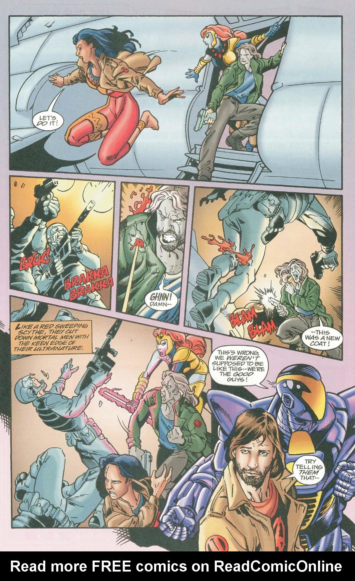 Read online UltraForce (1995) comic -  Issue #7 - 22