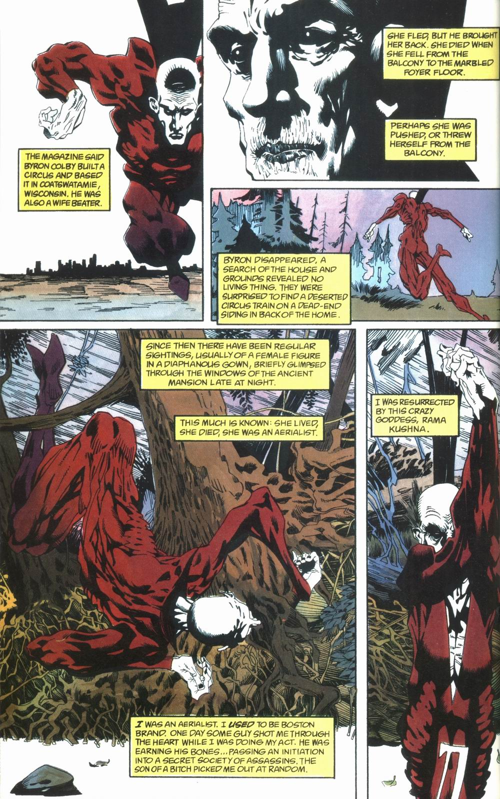 Read online Deadman: Love After Death comic -  Issue #1 - 6