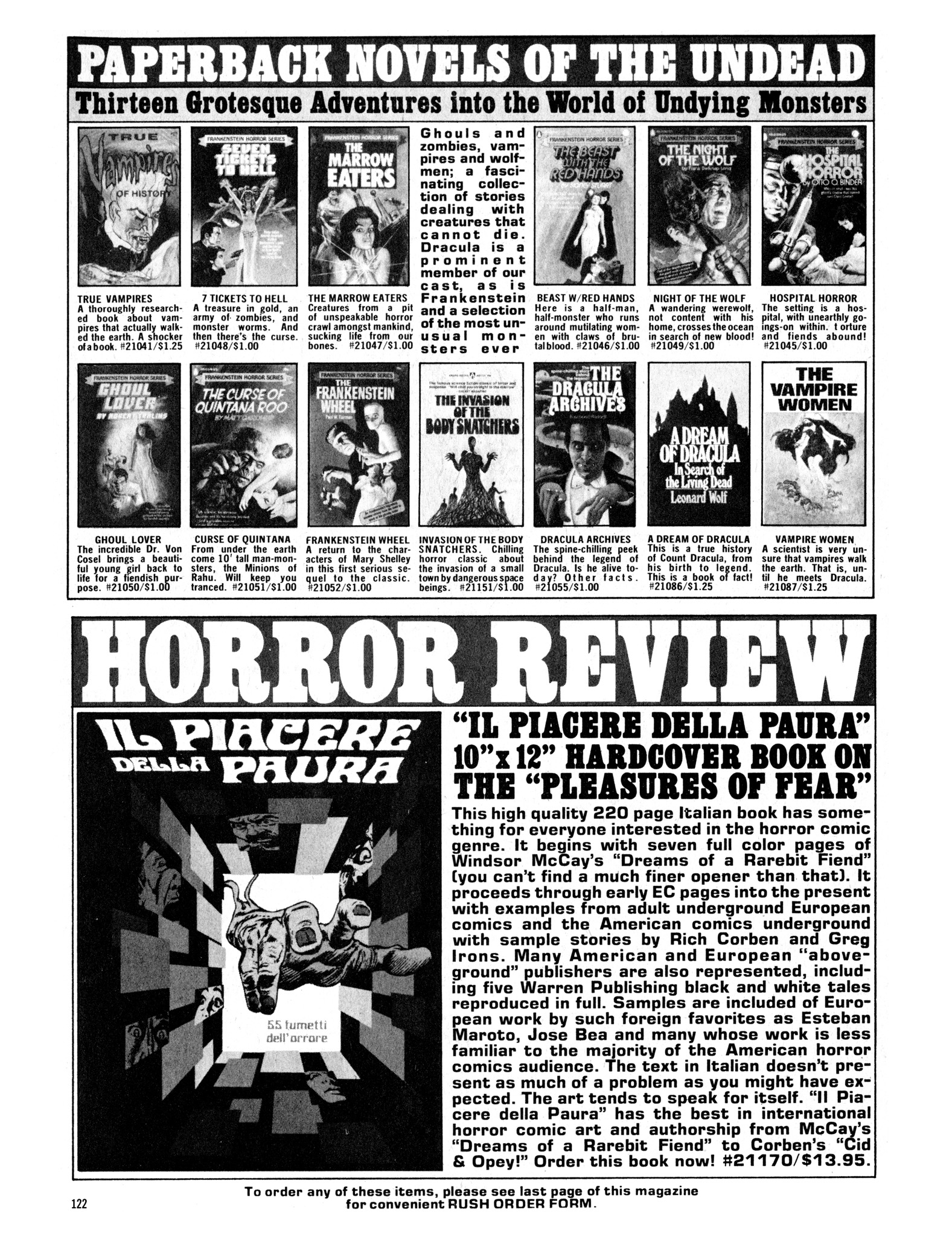 Read online Eerie Archives comic -  Issue # TPB 14 - 123