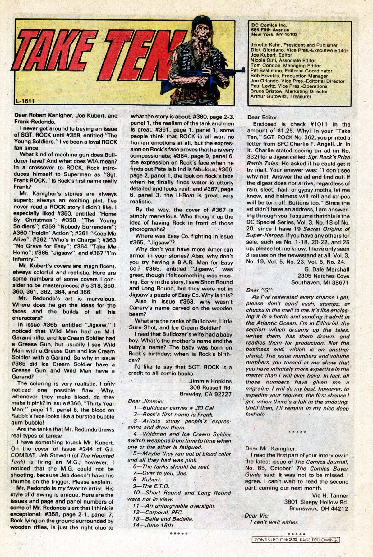 Read online Sgt. Rock comic -  Issue #391 - 17