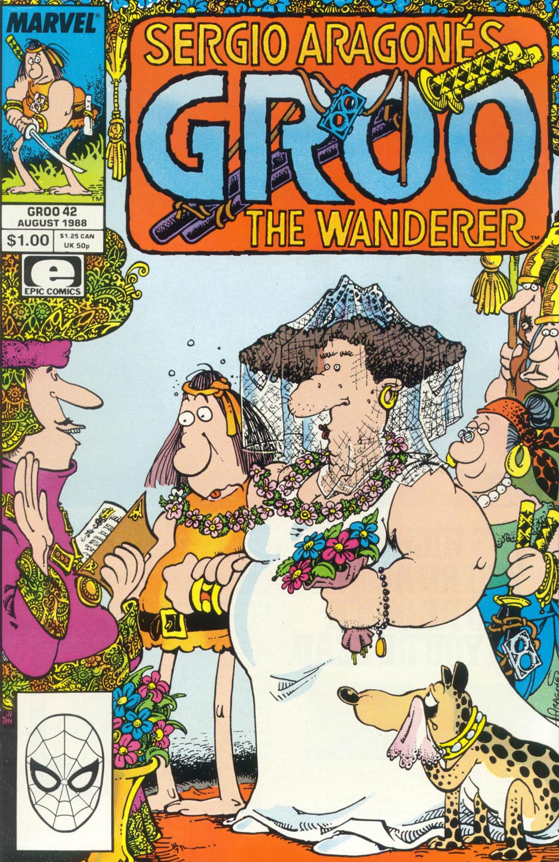 Read online Sergio Aragonés Groo the Wanderer comic -  Issue #42 - 1