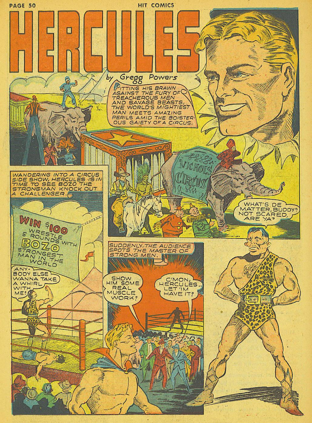 Read online Hit Comics comic -  Issue #21 - 52