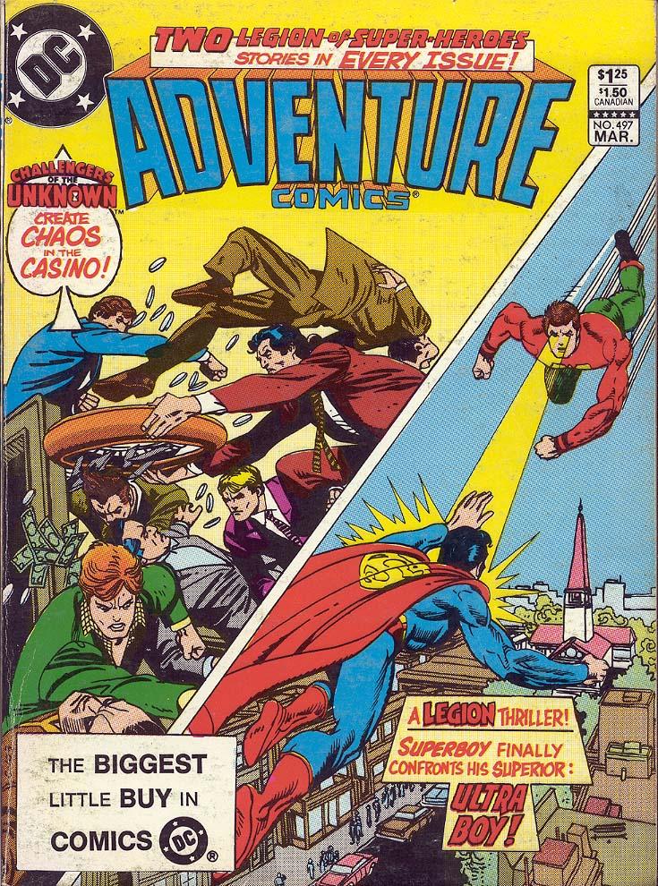 Read online Adventure Comics (1938) comic -  Issue #497 - 1