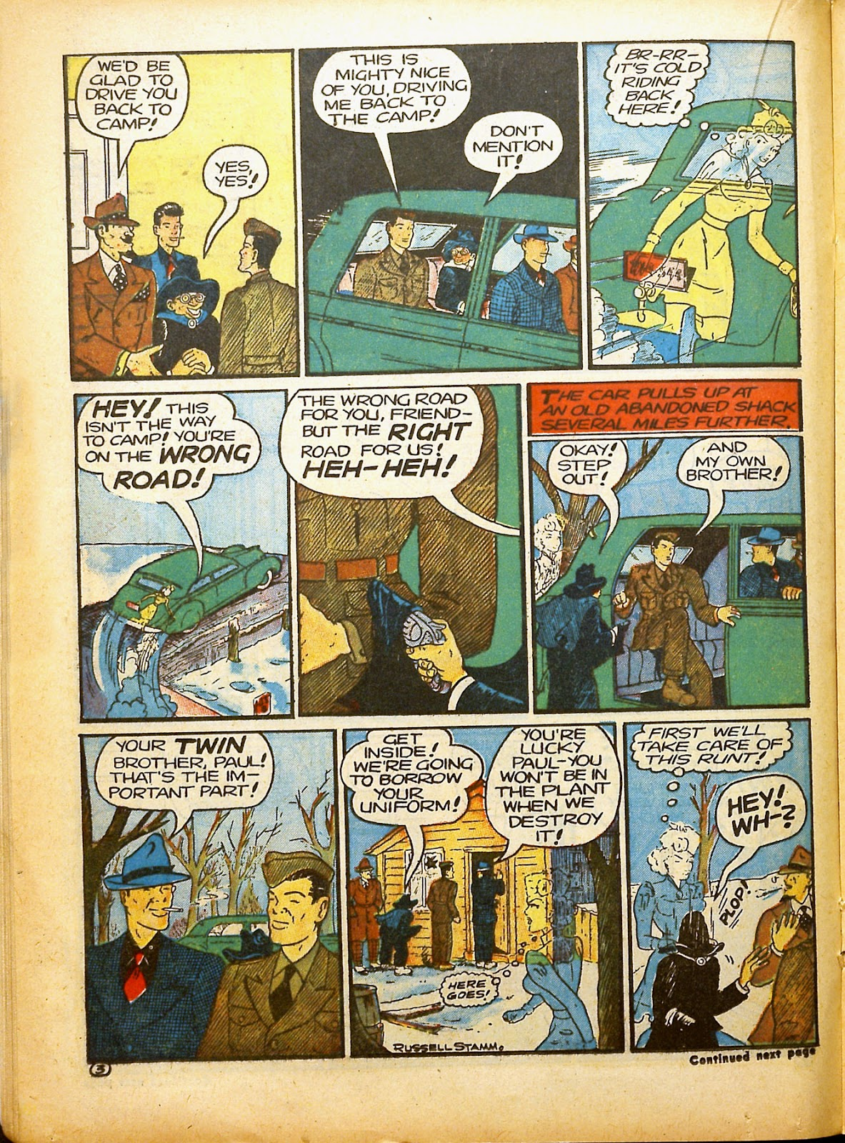 Read online Famous Funnies comic -  Issue #91 - 32