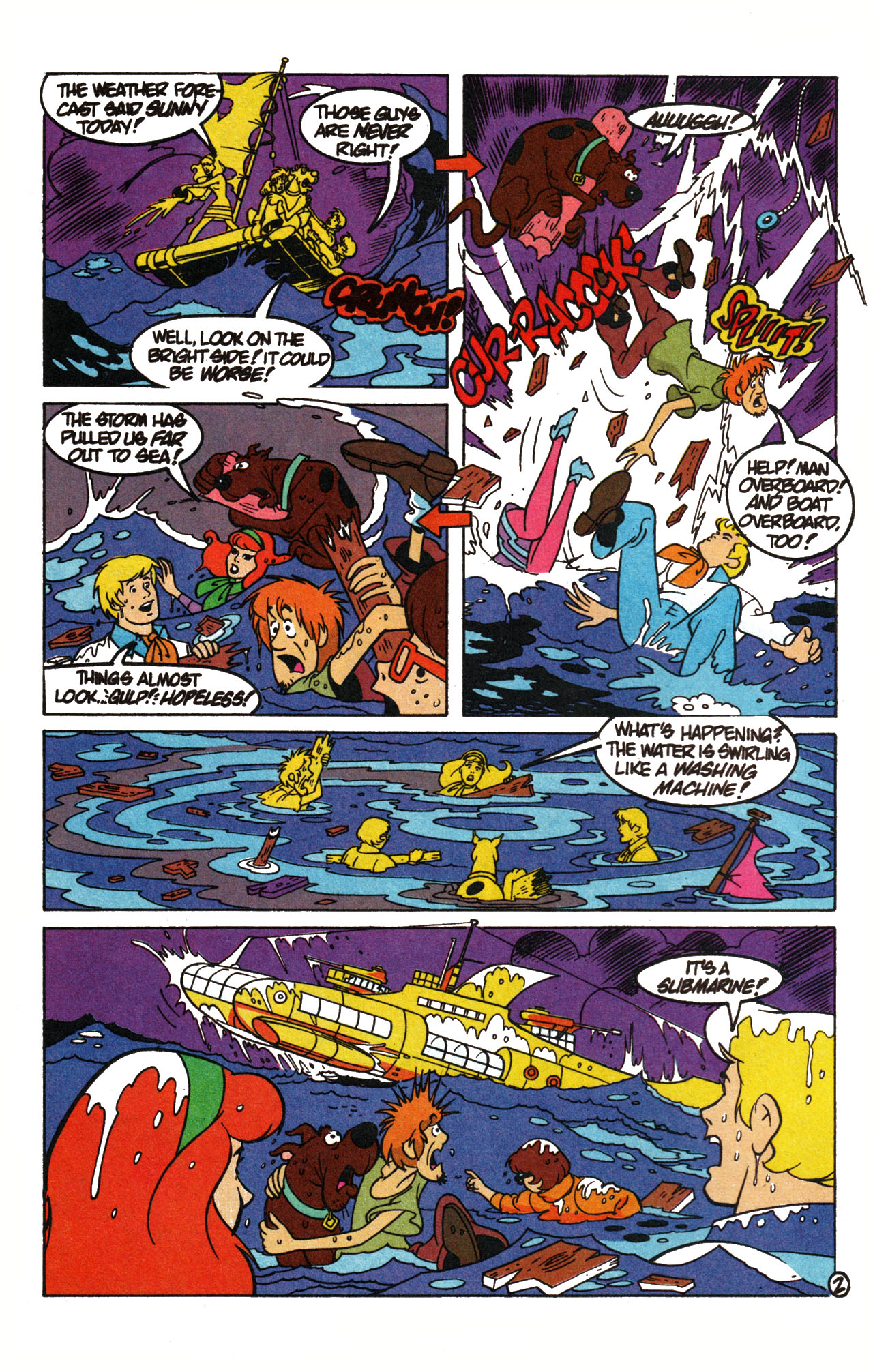 Read online Scooby-Doo (1995) comic -  Issue #15 - 4