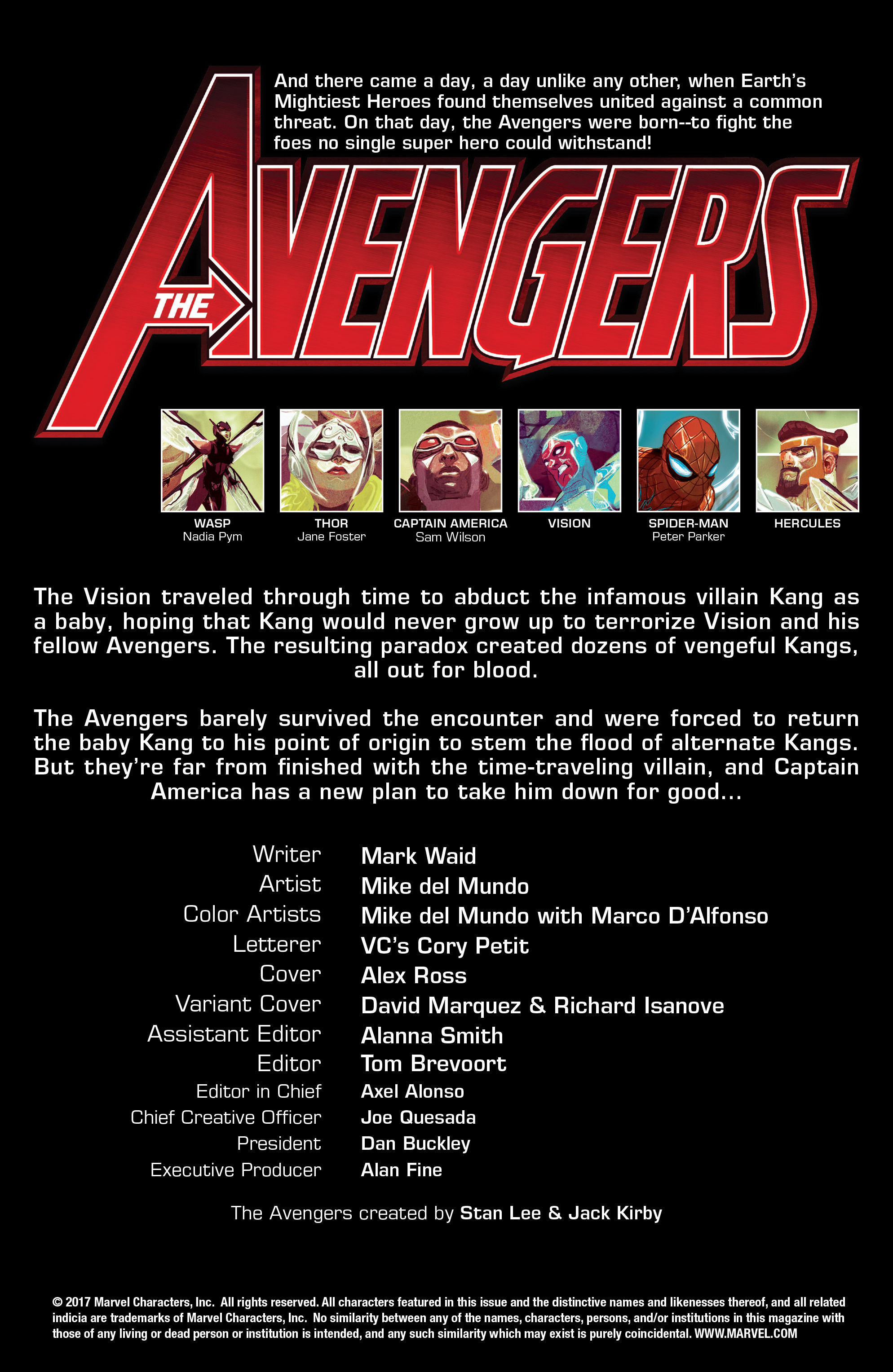 Read online Avengers (2016) comic -  Issue #5 - 4
