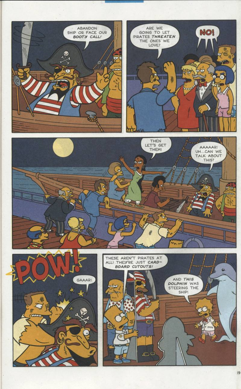 Read online Simpsons Comics comic -  Issue #66 - 20