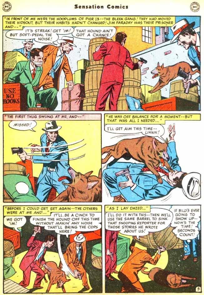 Read online Sensation (Mystery) Comics comic -  Issue #92 - 21