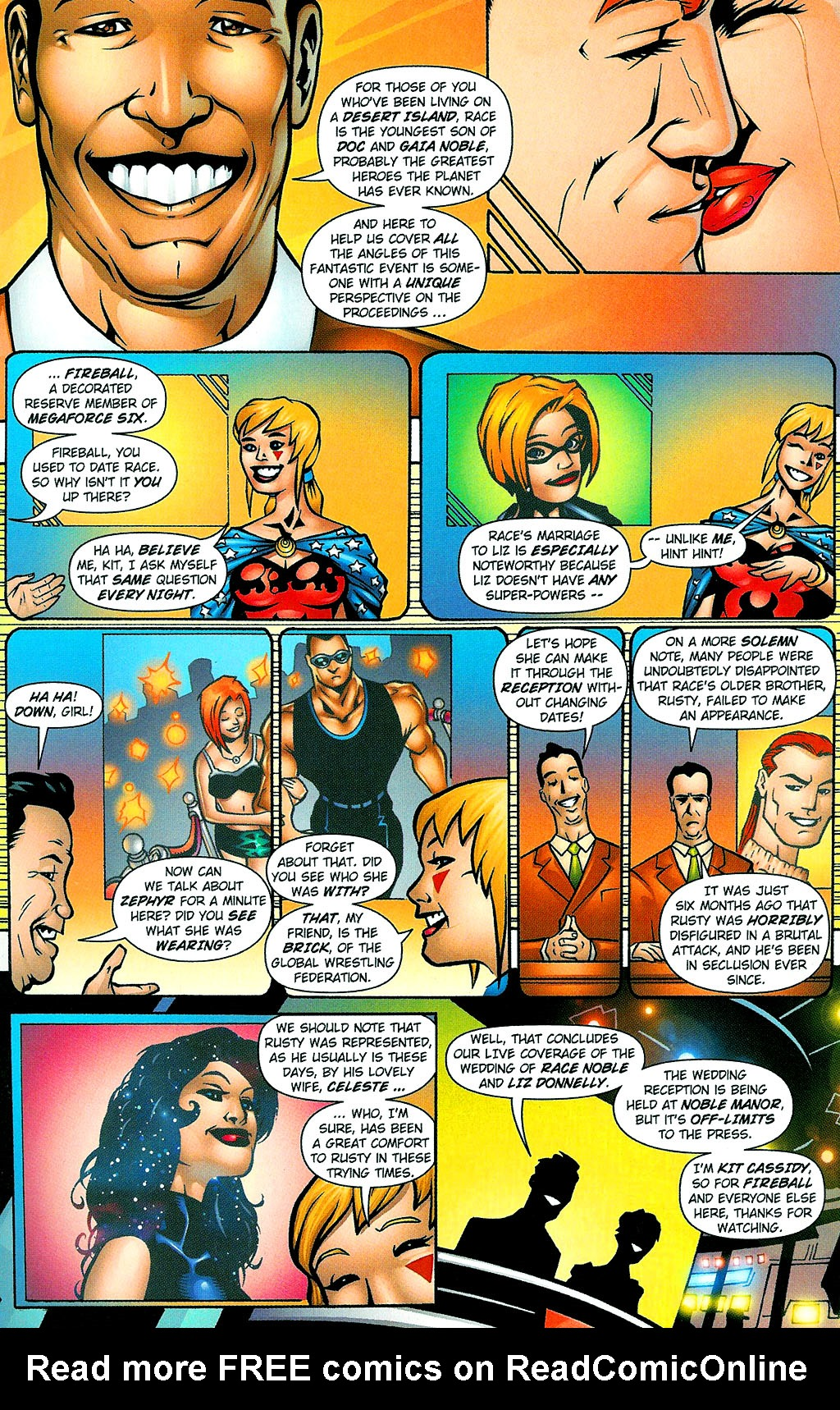 Read online Noble Causes (2002) comic -  Issue #1 - 5