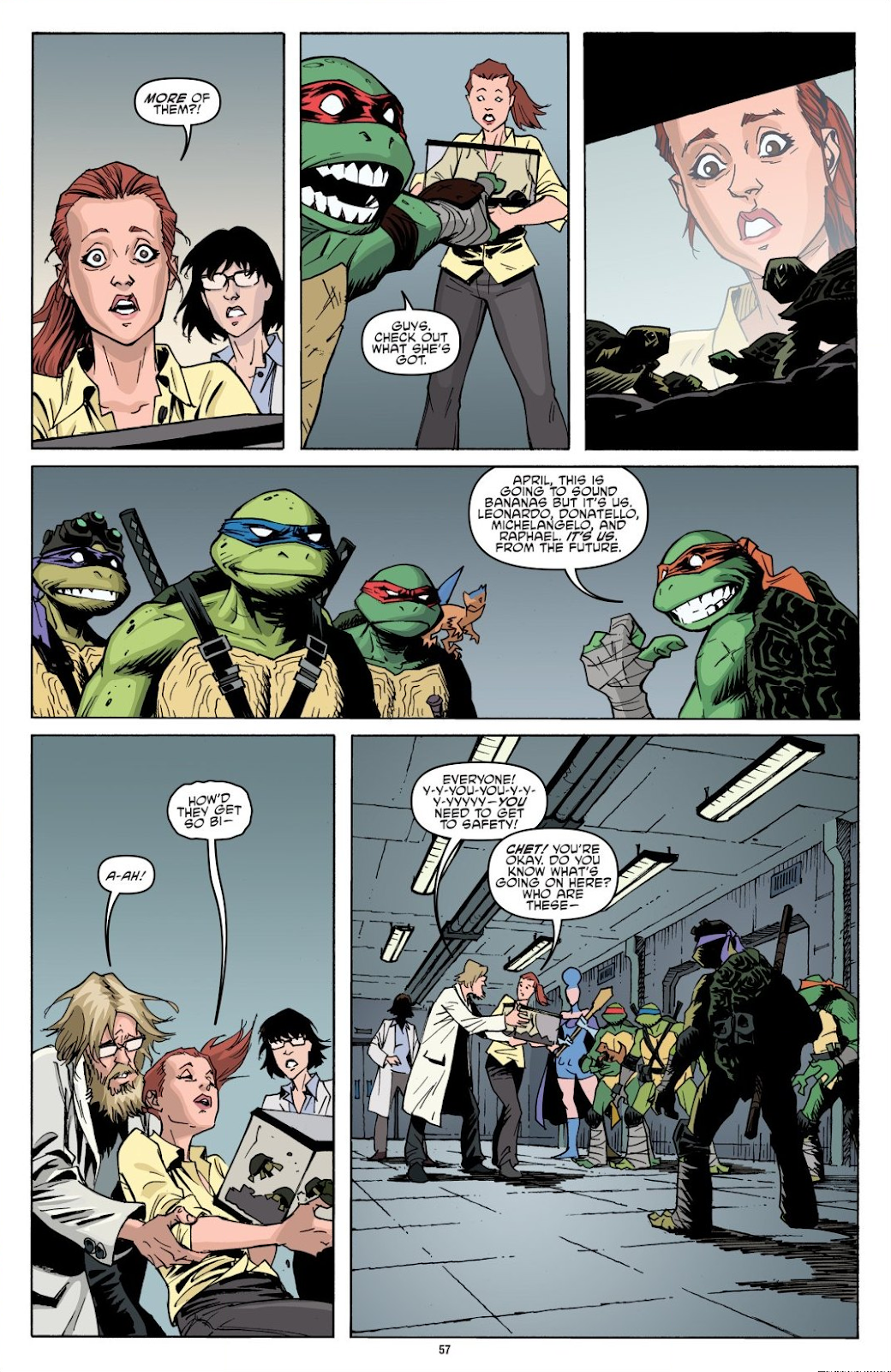 Read online Teenage Mutant Ninja Turtles: The IDW Collection comic -  Issue # TPB 8 (Part 1) - 57