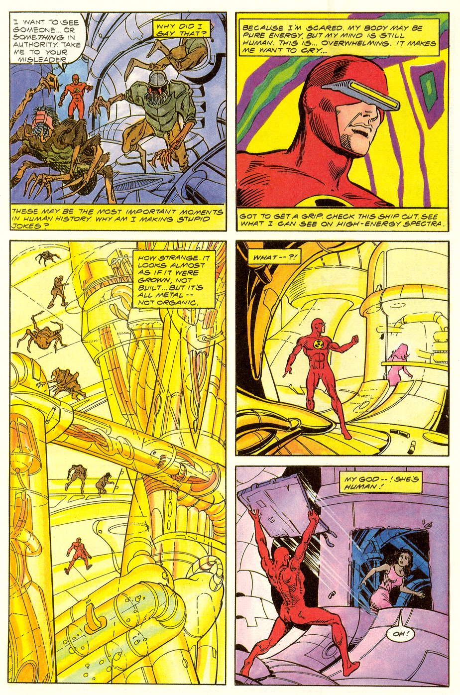 Read online Solar, Man of the Atom comic -  Issue #6 - 5