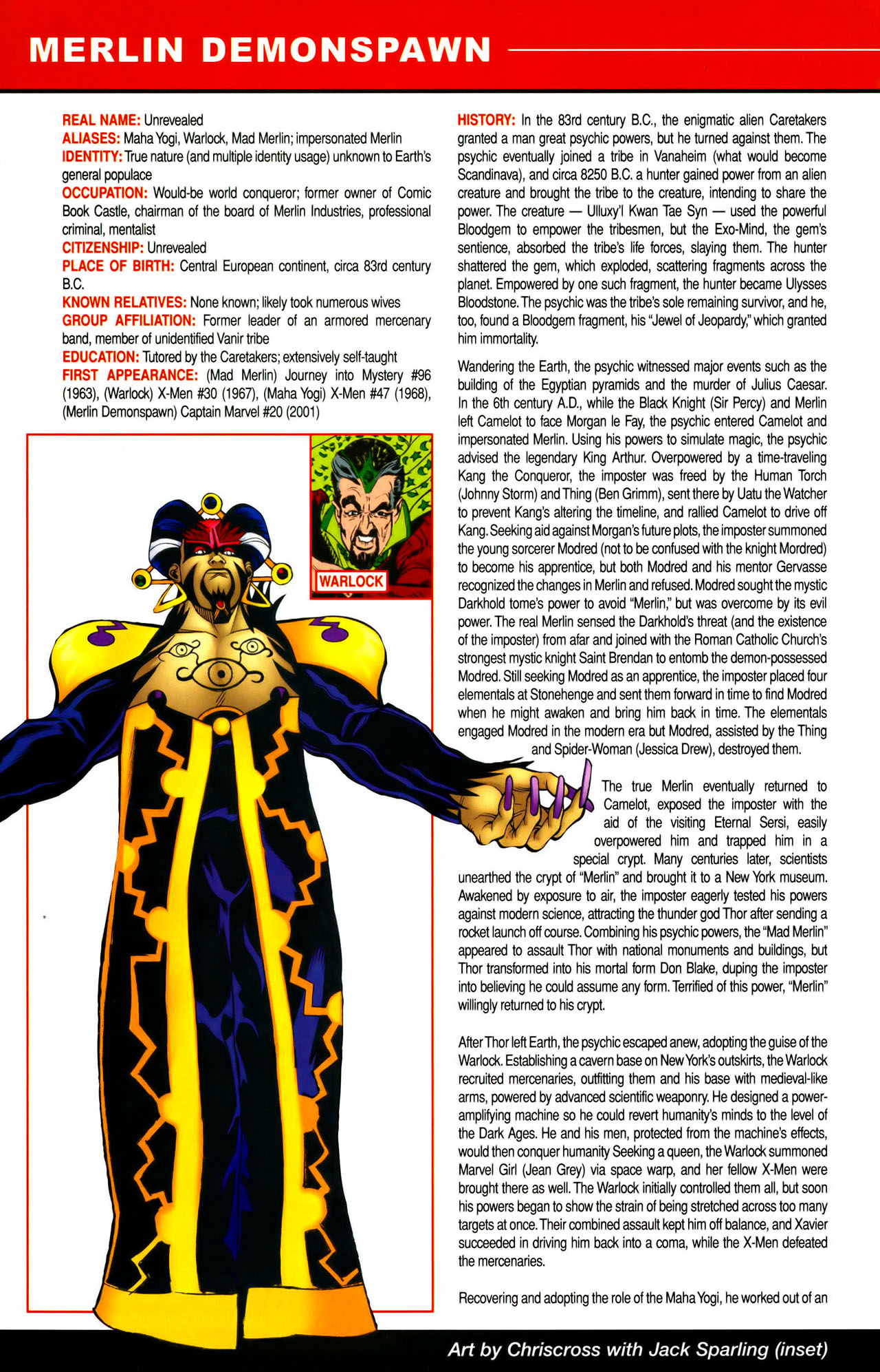 Read online All-New Official Handbook of the Marvel Universe A to Z comic -  Issue #7 - 26
