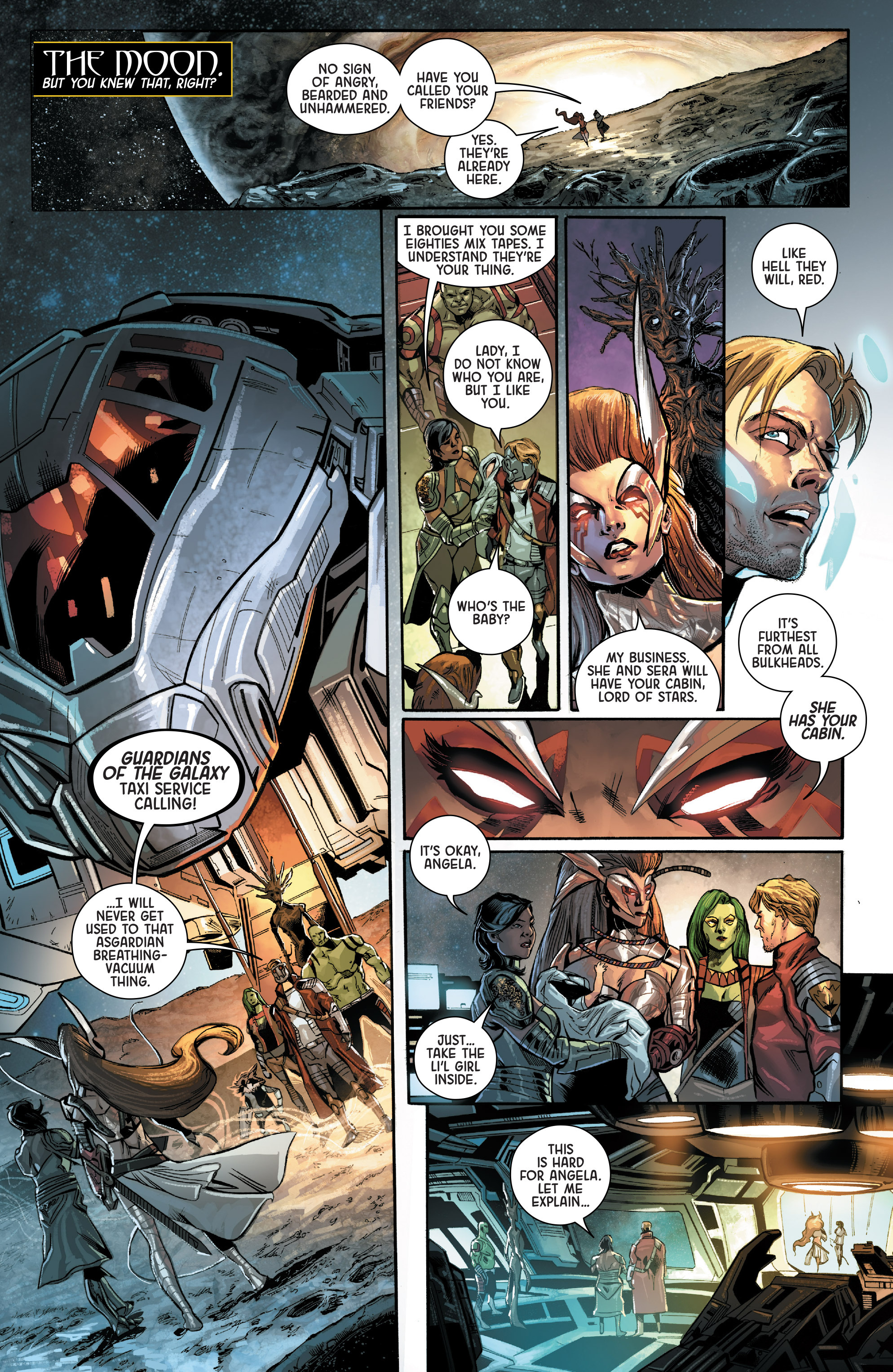 Read online Angela: Asgard's Assassin comic -  Issue #3 - 13