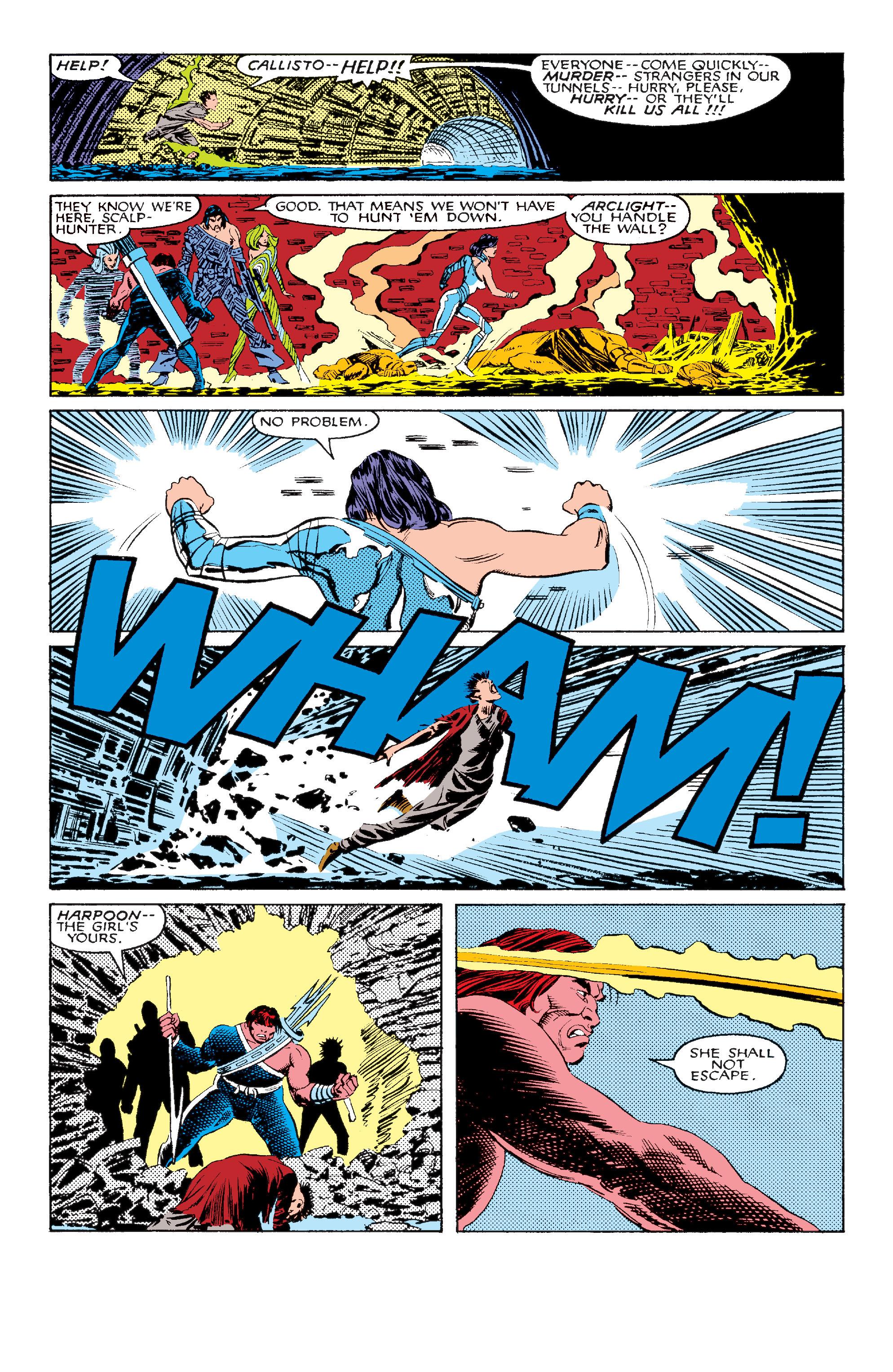 Read online Uncanny X-Men (1963) comic -  Issue #211 - 5
