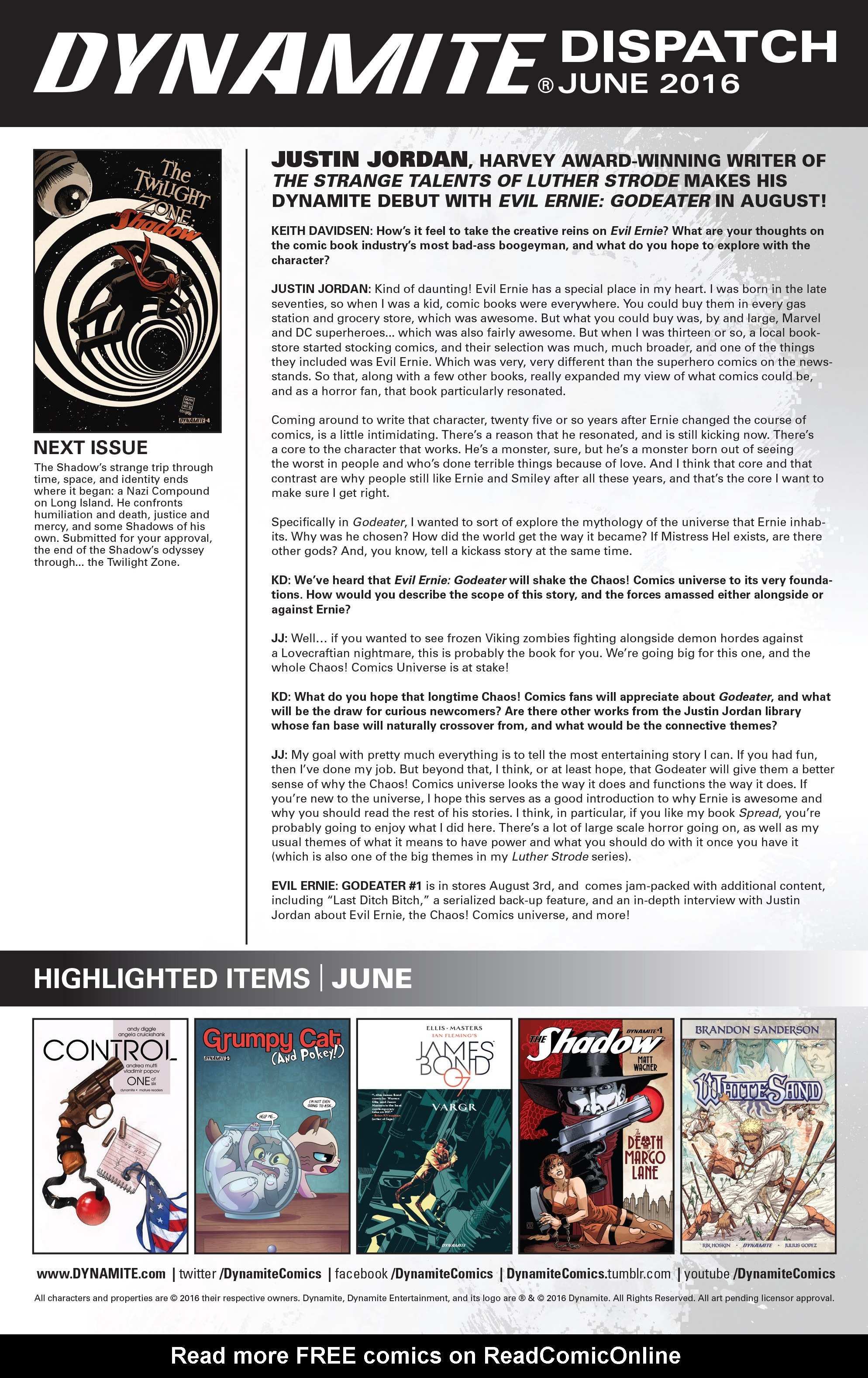 Read online Twilight Zone The Shadow comic -  Issue #3 - 23
