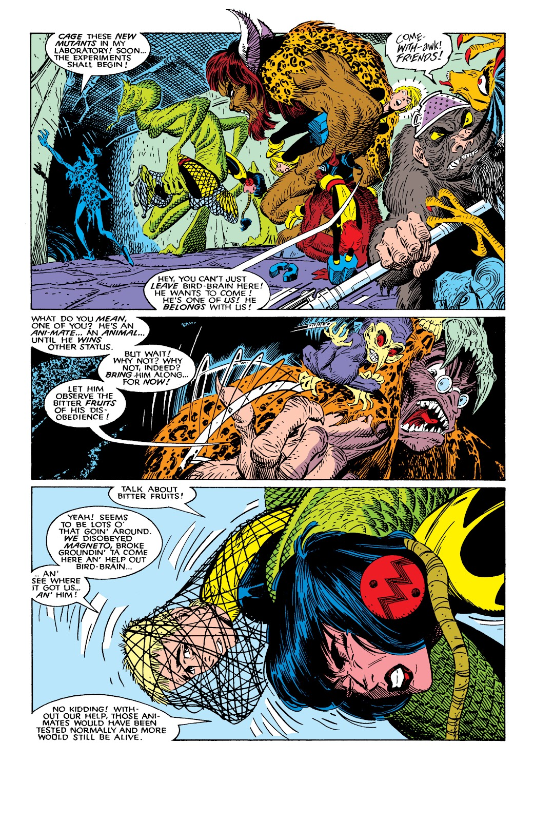 Read online X-Men Milestones: Fall of the Mutants comic -  Issue # TPB (Part 2) - 21