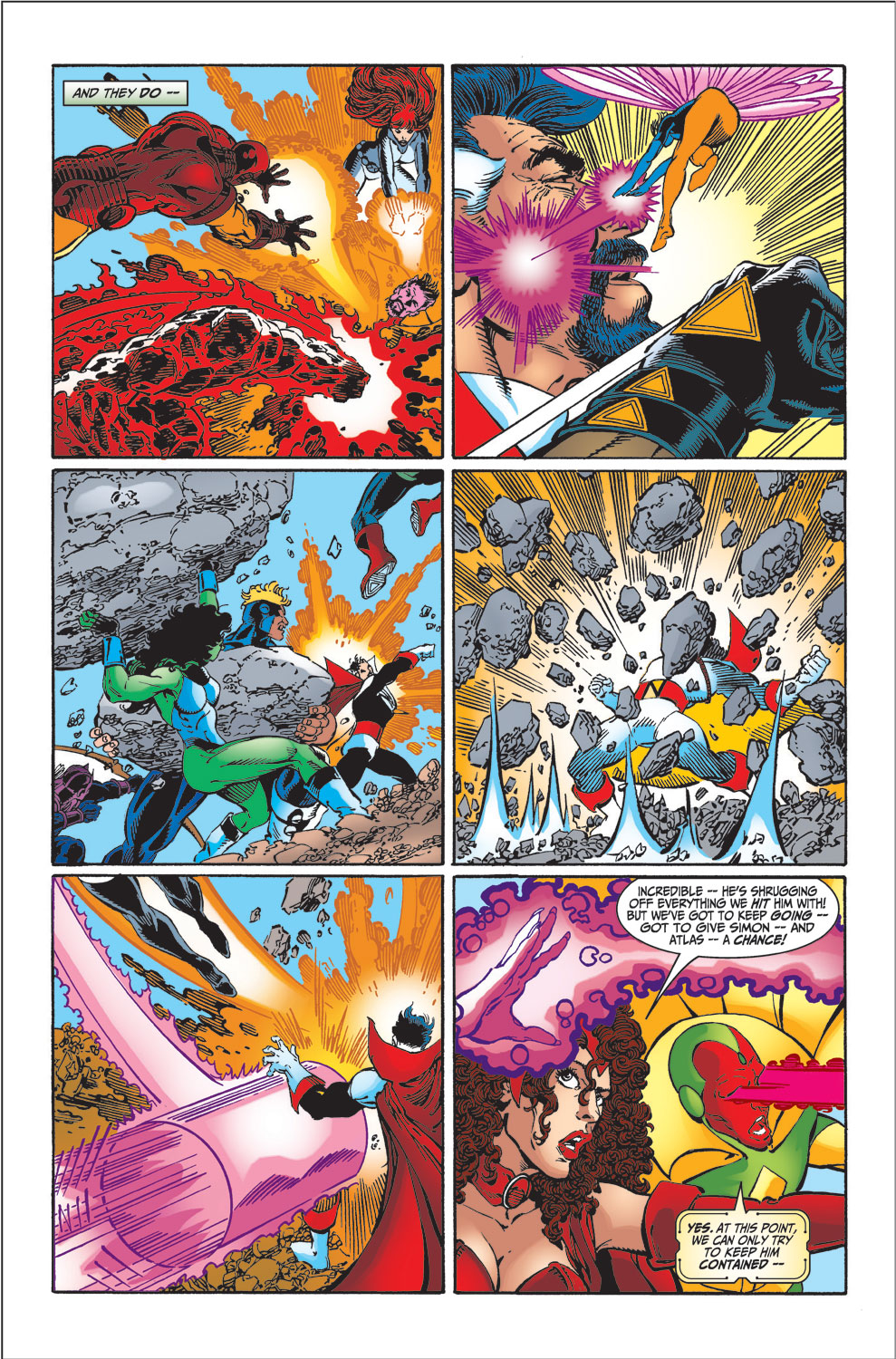 Read online Avengers (1998) comic -  Issue #34 - 23