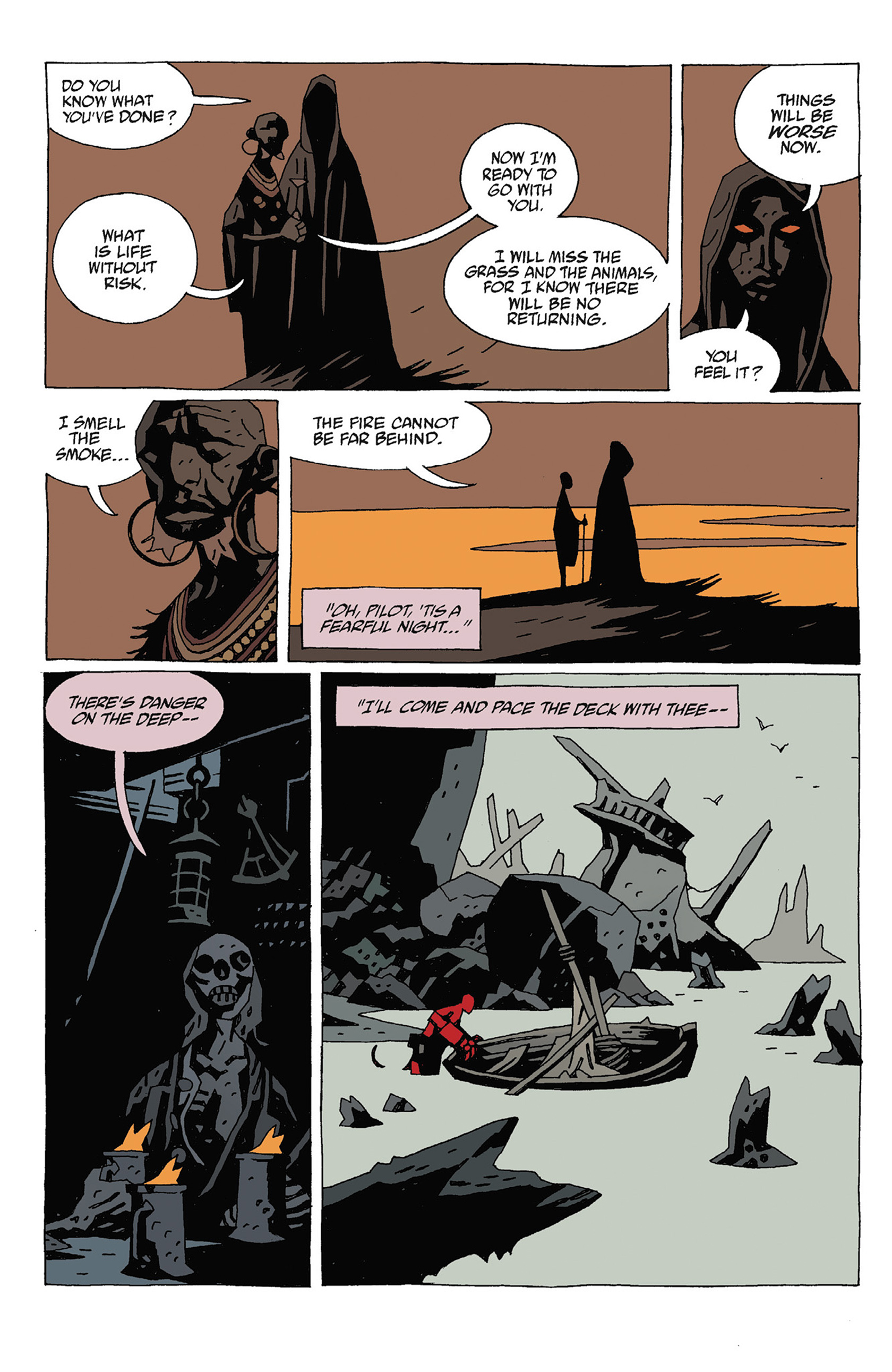 Read online Hellboy: Strange Places comic -  Issue # TPB - 124