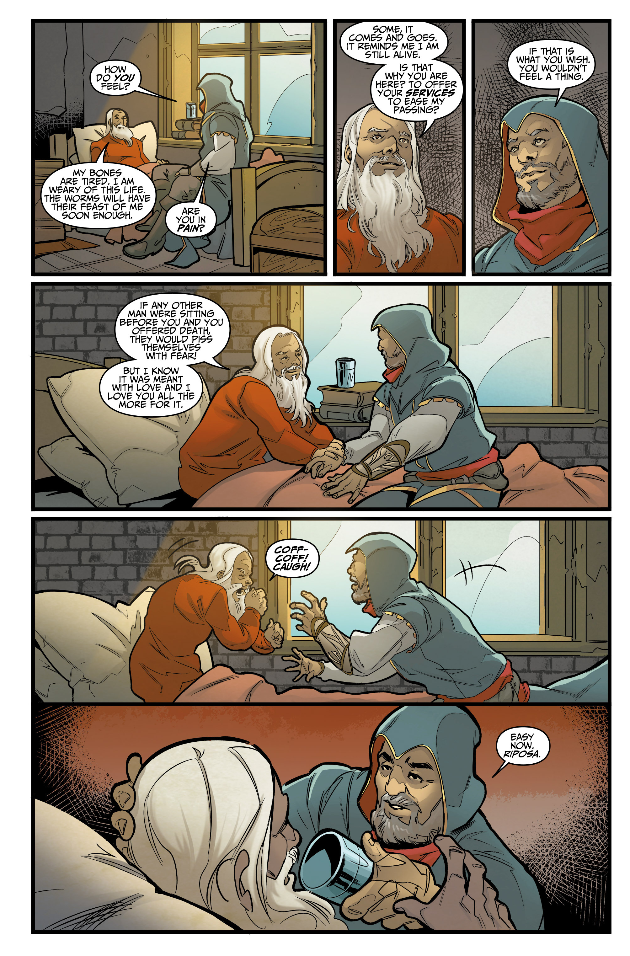 Read online Assassin's Creed: Reflections comic -  Issue #1 - 7