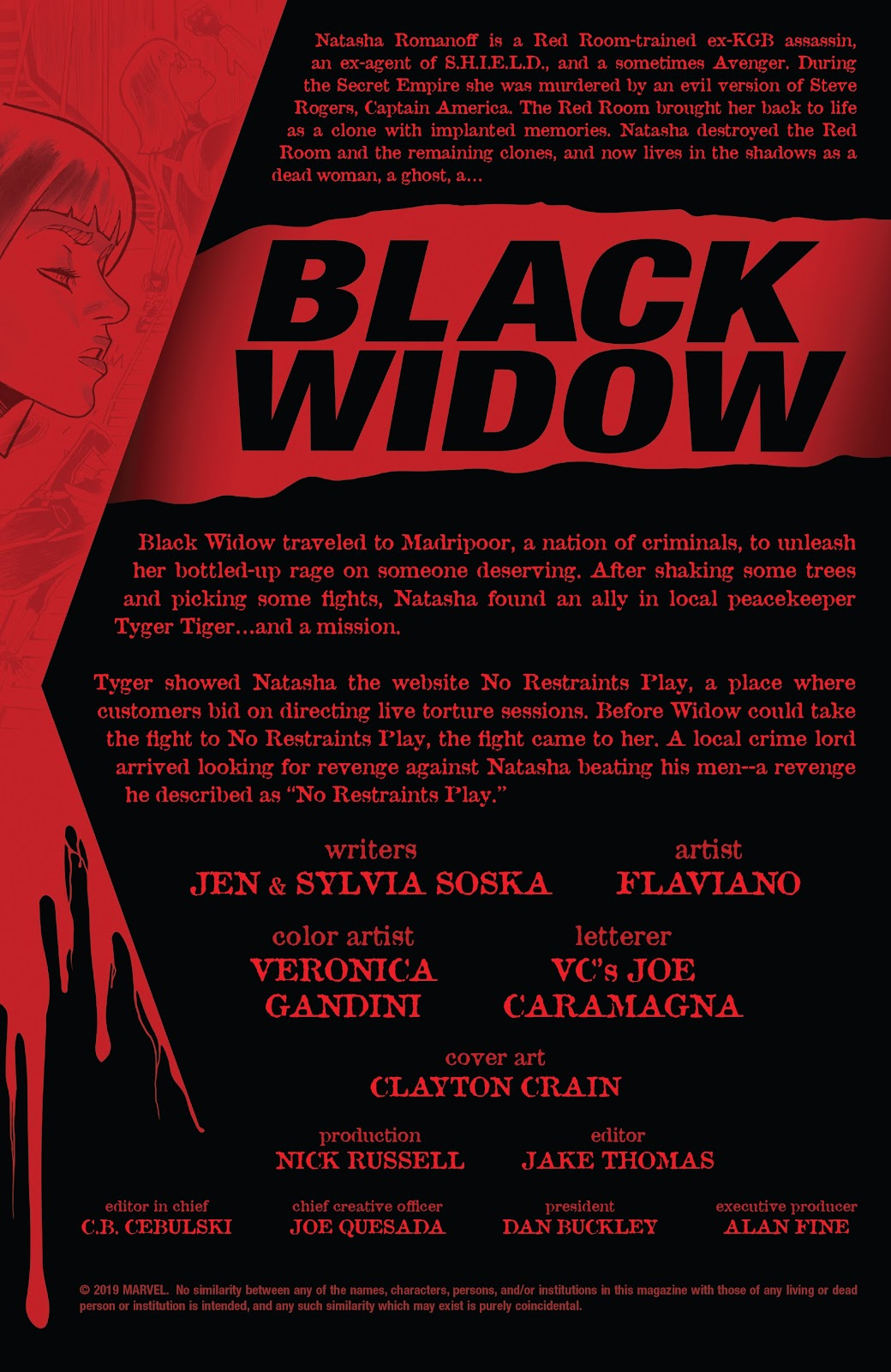 Read online Black Widow (2019) comic -  Issue #2 - 2