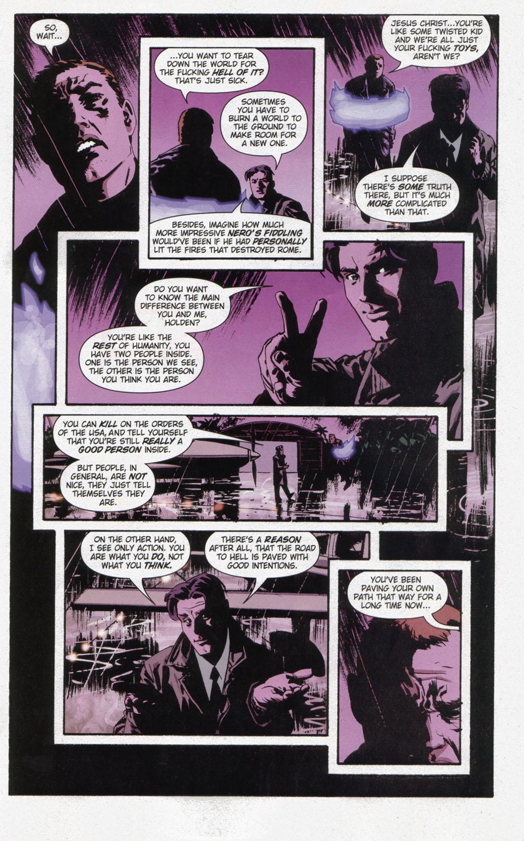 Read online Sleeper comic -  Issue #12 - 19