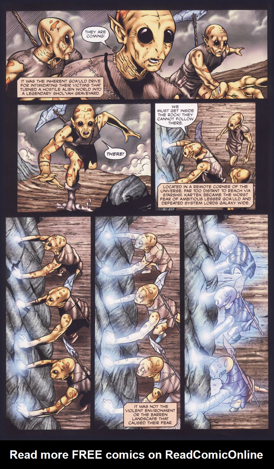 Read online Stargate SG-1: Fall of Rome comic -  Issue #1 - 4