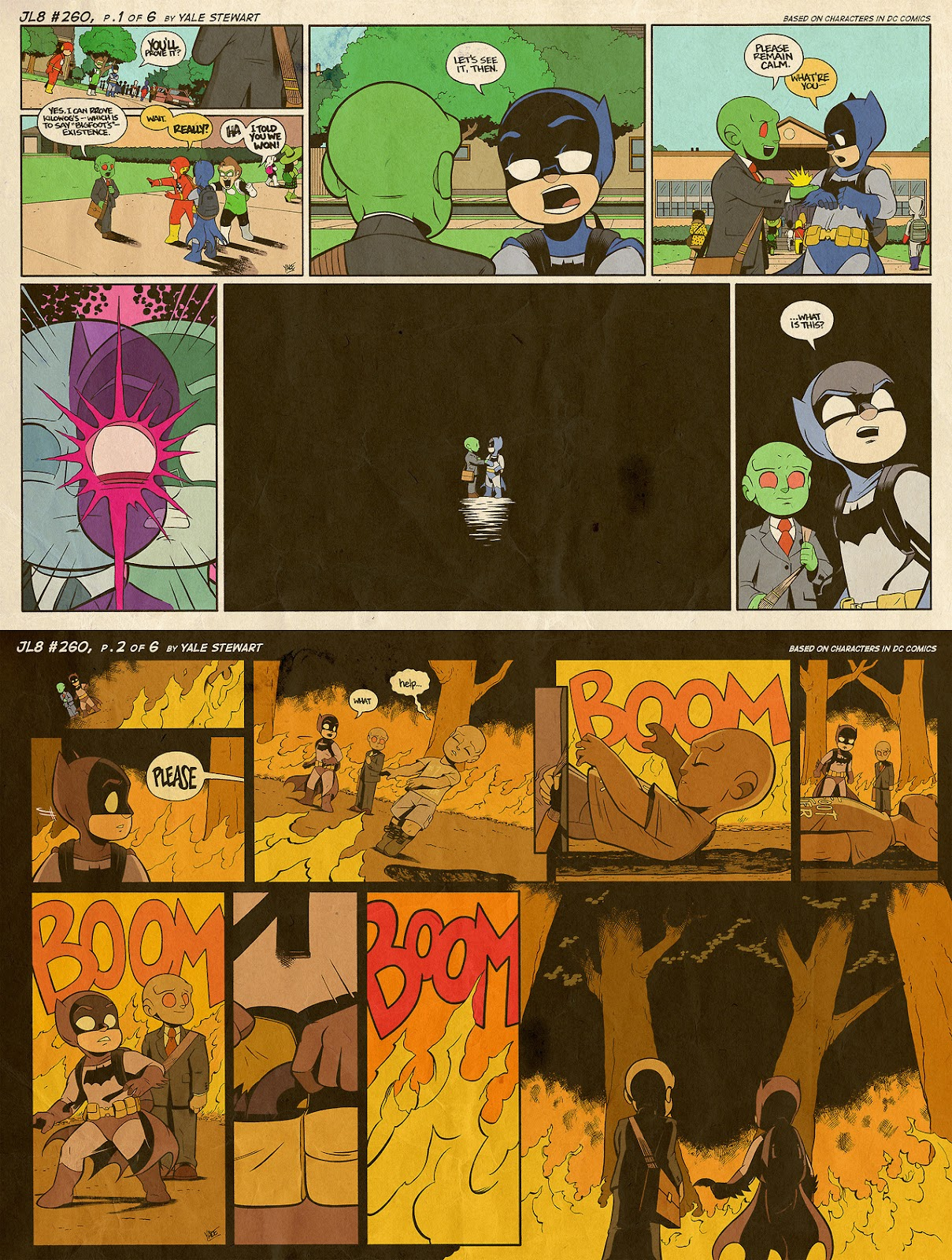 Read online JL8 – The Complete Collection comic -  Issue # TPB (Part 2) - 70