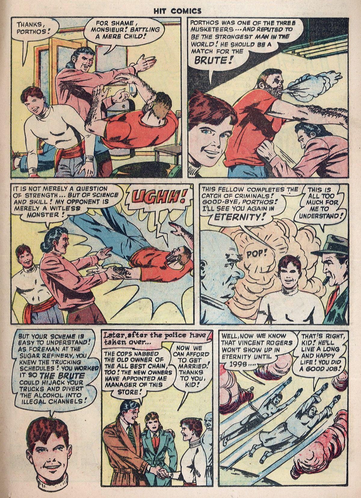 Read online Hit Comics comic -  Issue #55 - 15