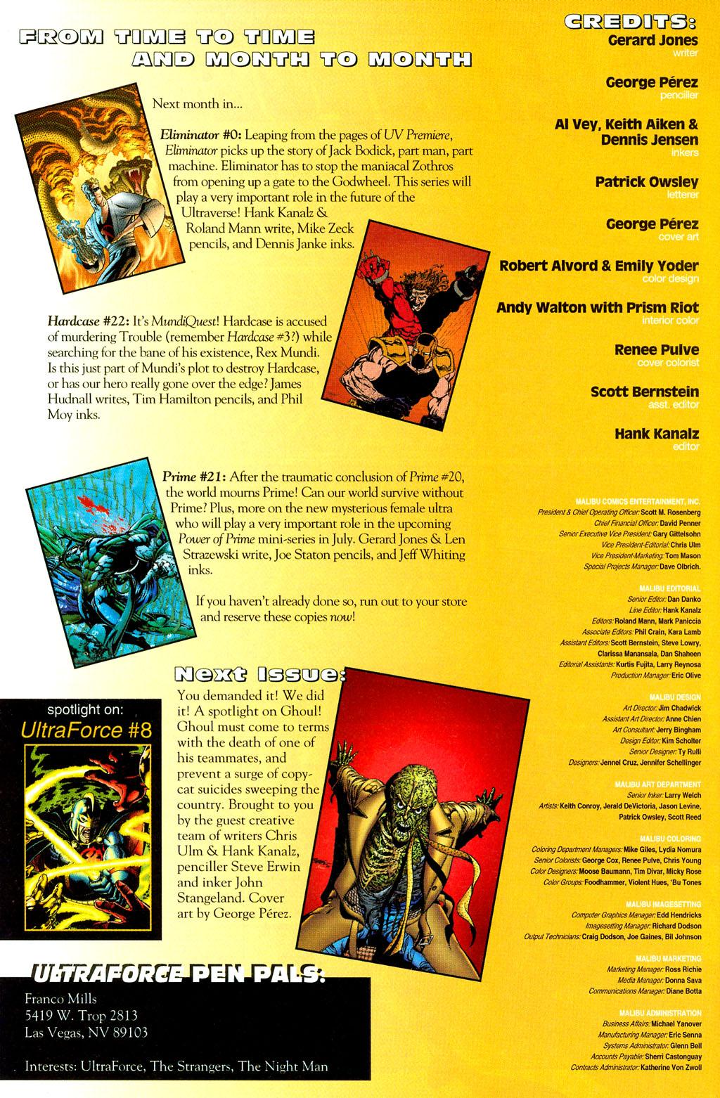 Read online UltraForce (1994) comic -  Issue #6 - 26