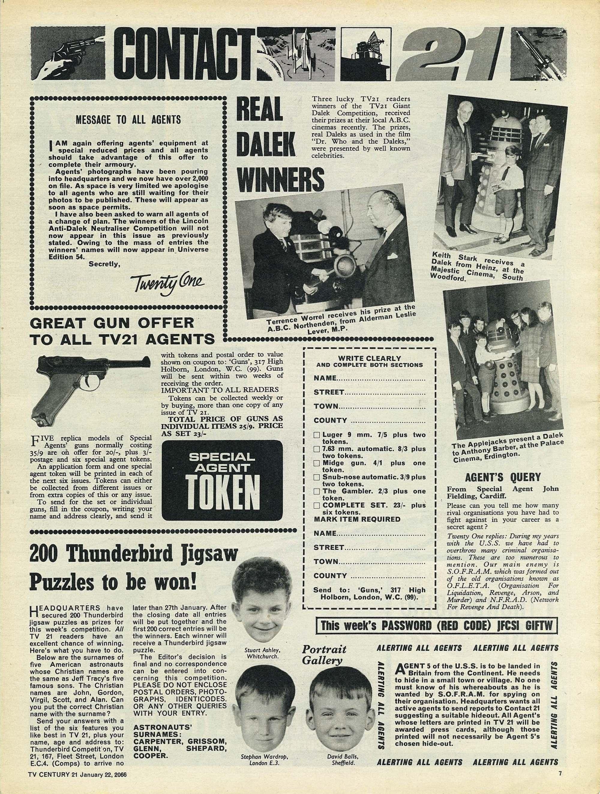 Read online TV Century 21 (TV 21) comic -  Issue #53 - 7
