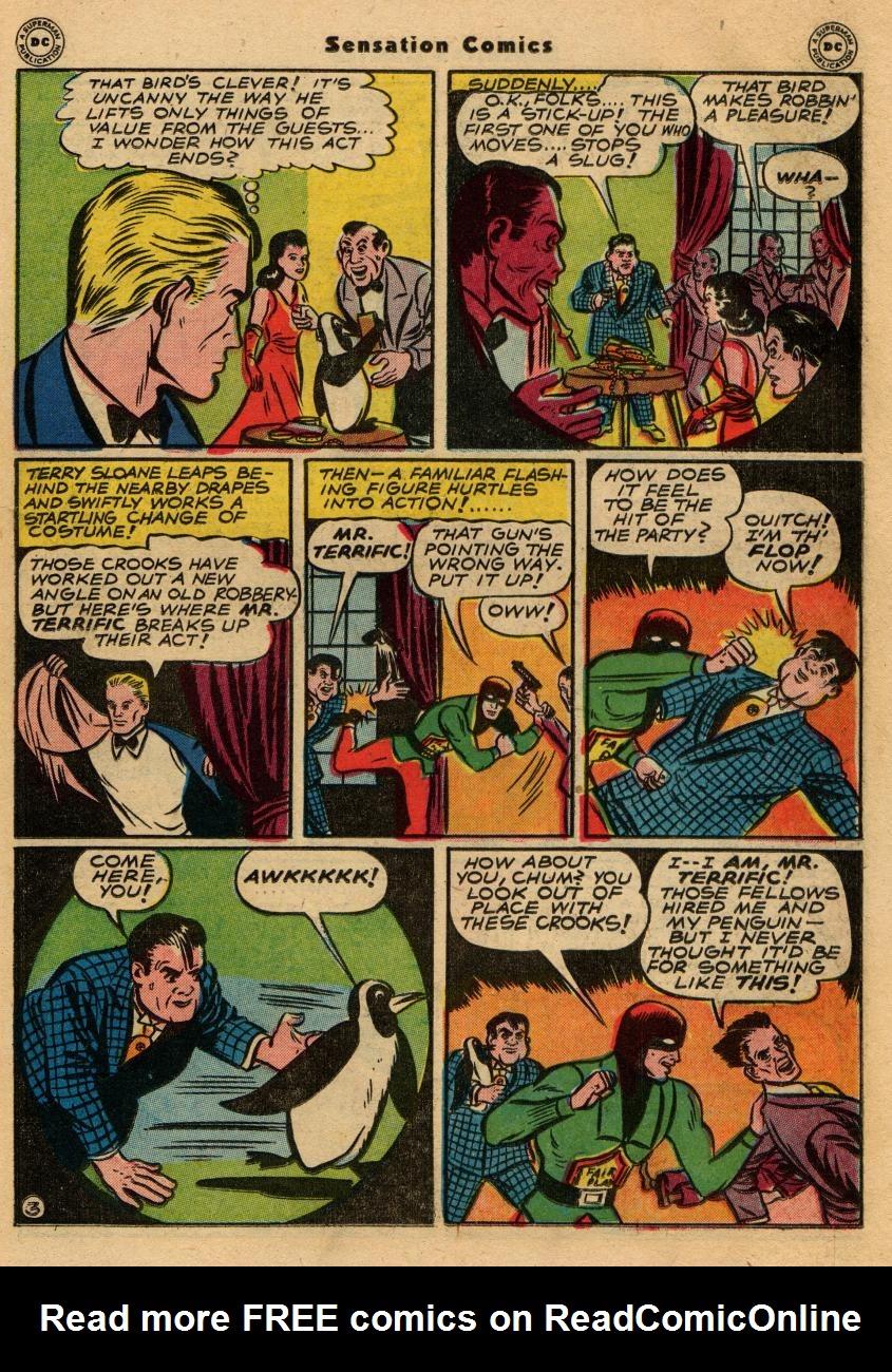 Read online Sensation (Mystery) Comics comic -  Issue #61 - 35