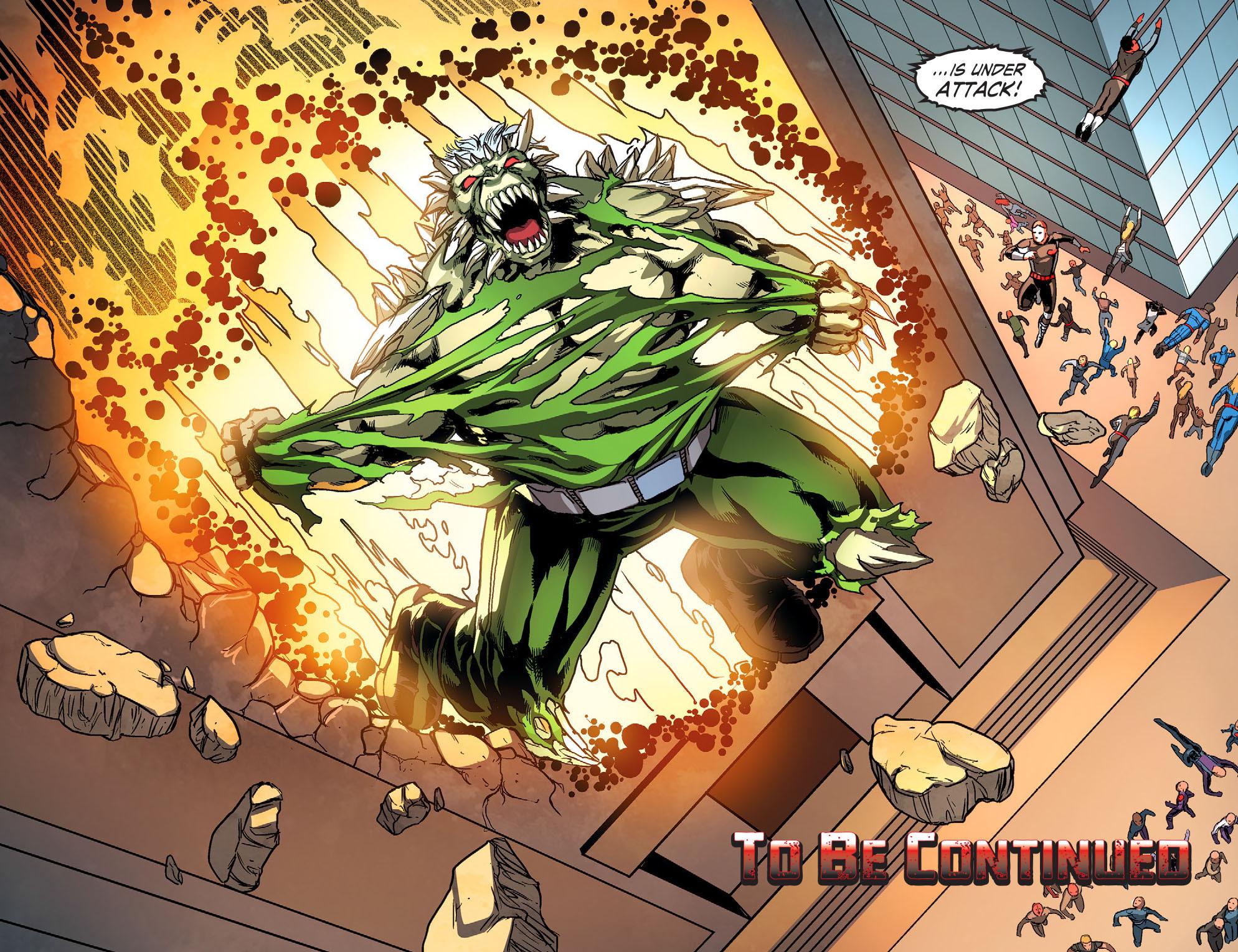 Read online Smallville: Season 11 comic -  Issue #51 - 22