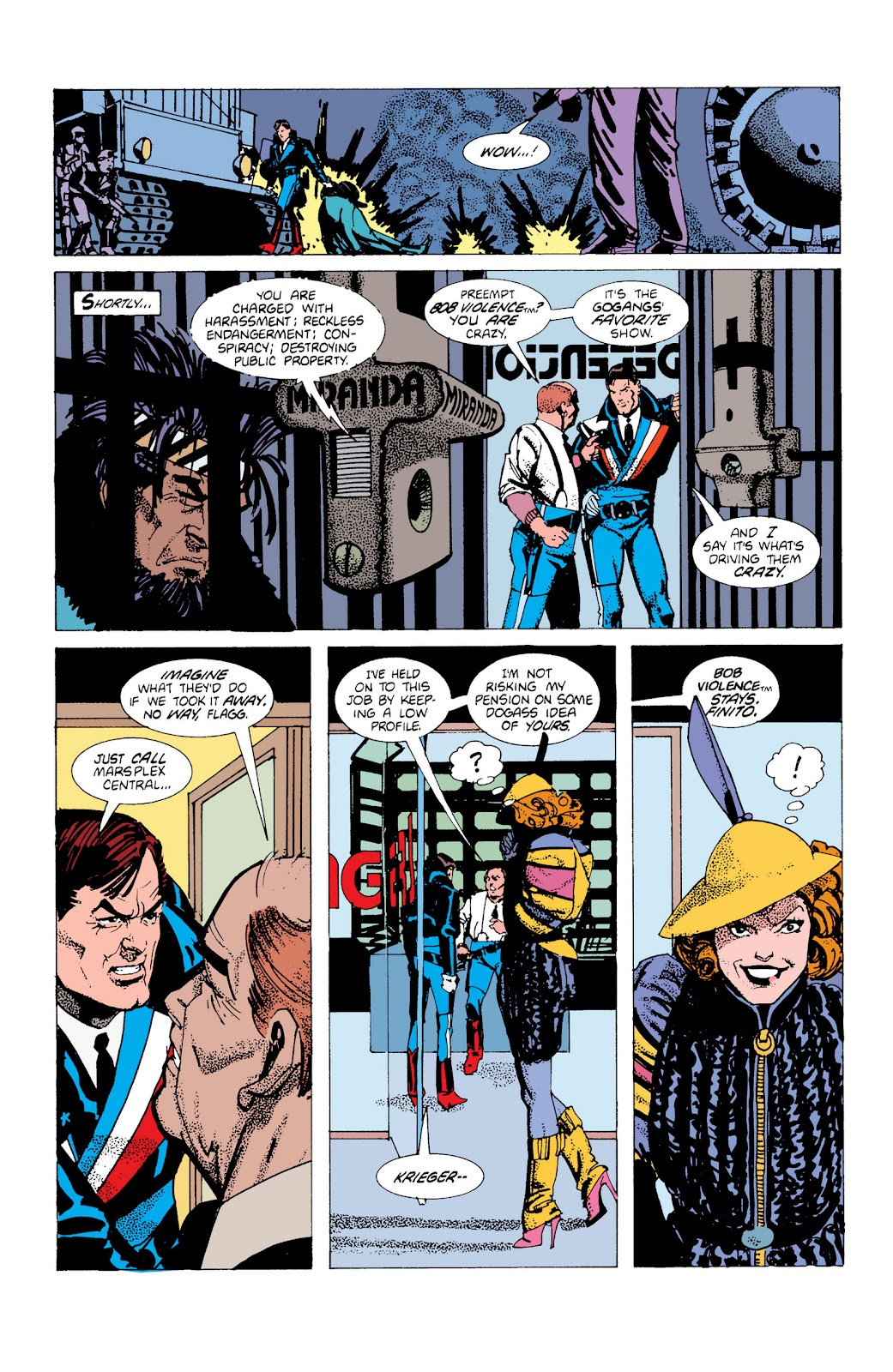 American Flagg! issue Definitive Collection (Part 1) - Page 45