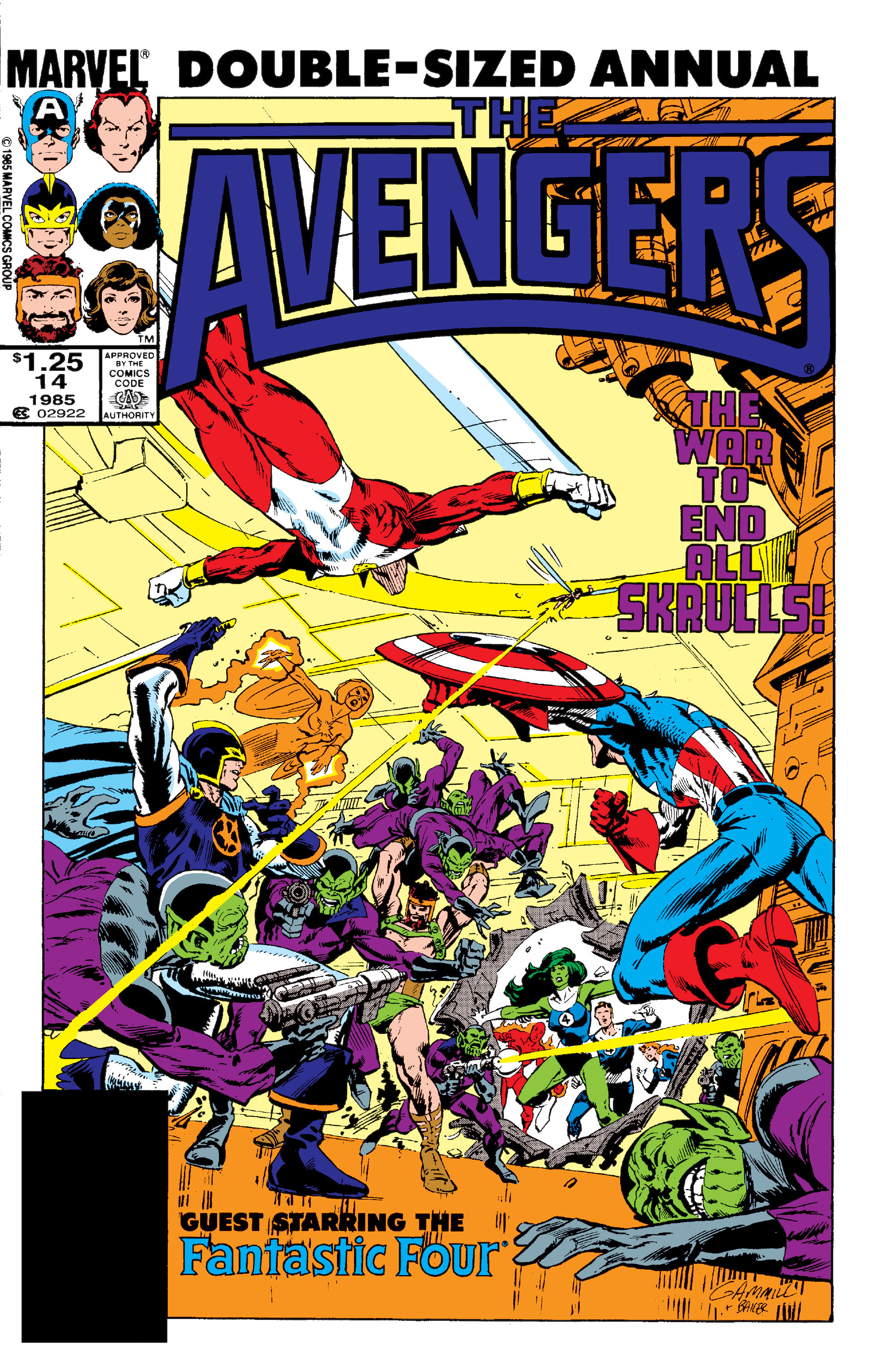 The Avengers (1963) issue _Annual_14 - Page 1
