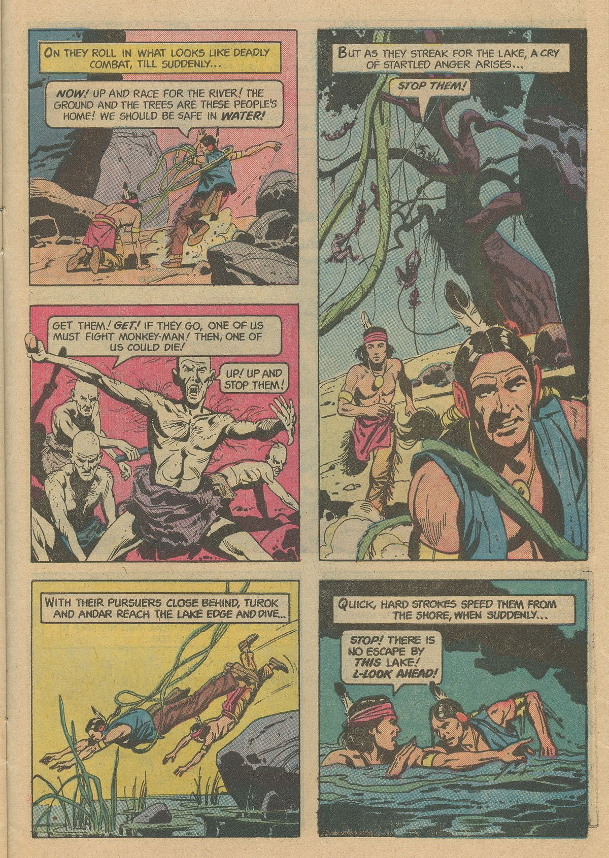 Read online Turok, Son of Stone comic -  Issue #128 - 27