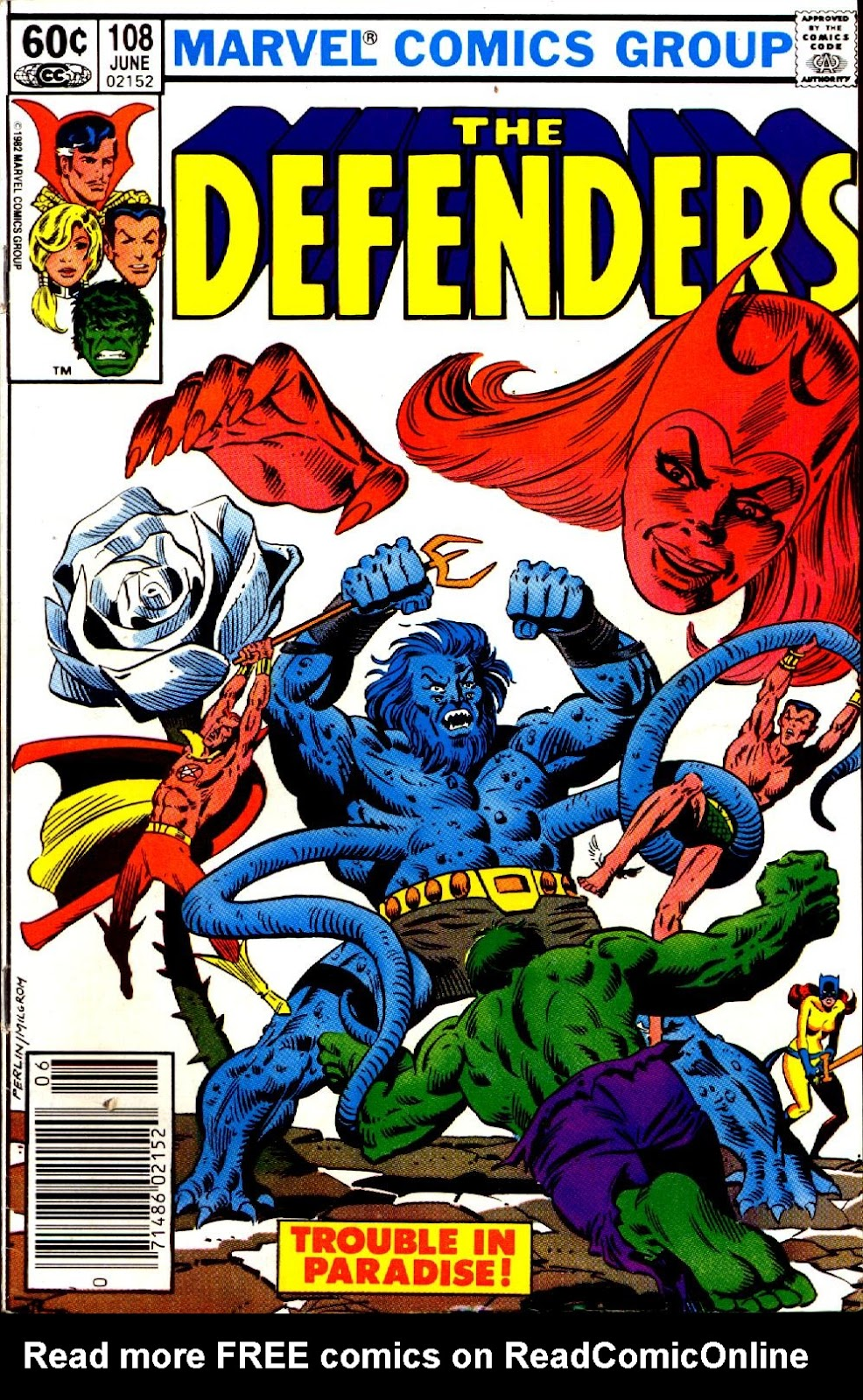 The Defenders (1972) issue 108 - Page 1