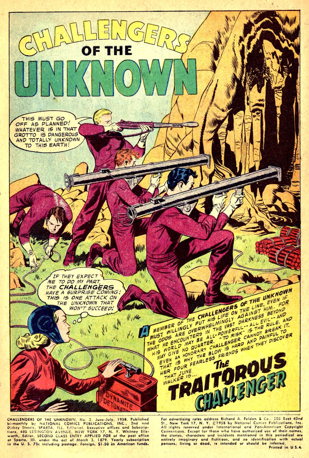 Challengers of the Unknown (1958) issue 2 - Page 3