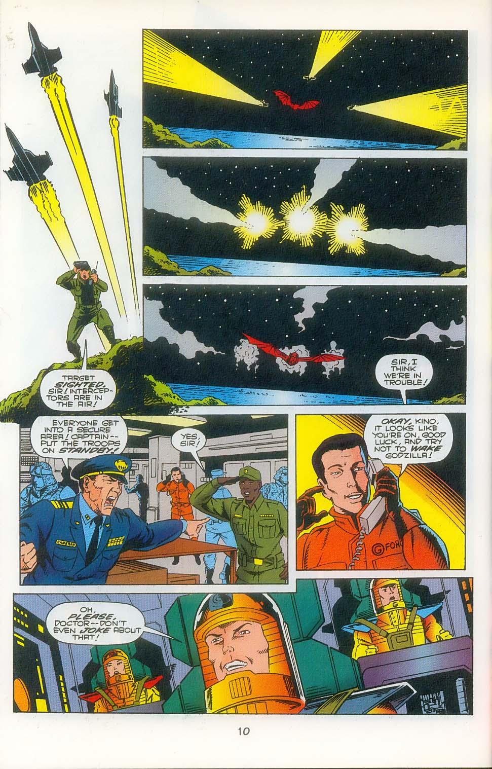 Godzilla (1995) Issue #3 #4 - English 12